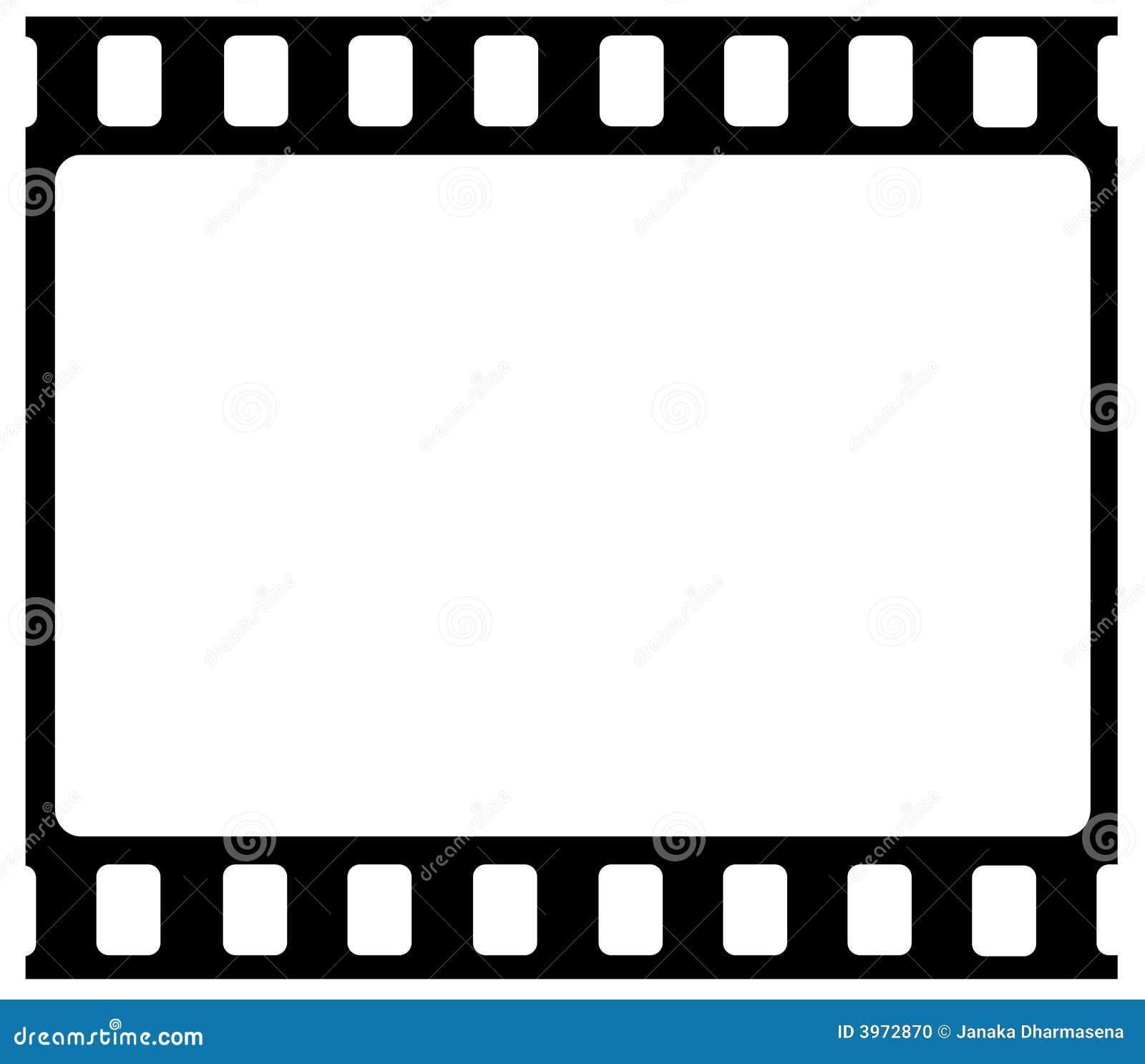 35mm Film Frame Stock Photo - Image: 3972870