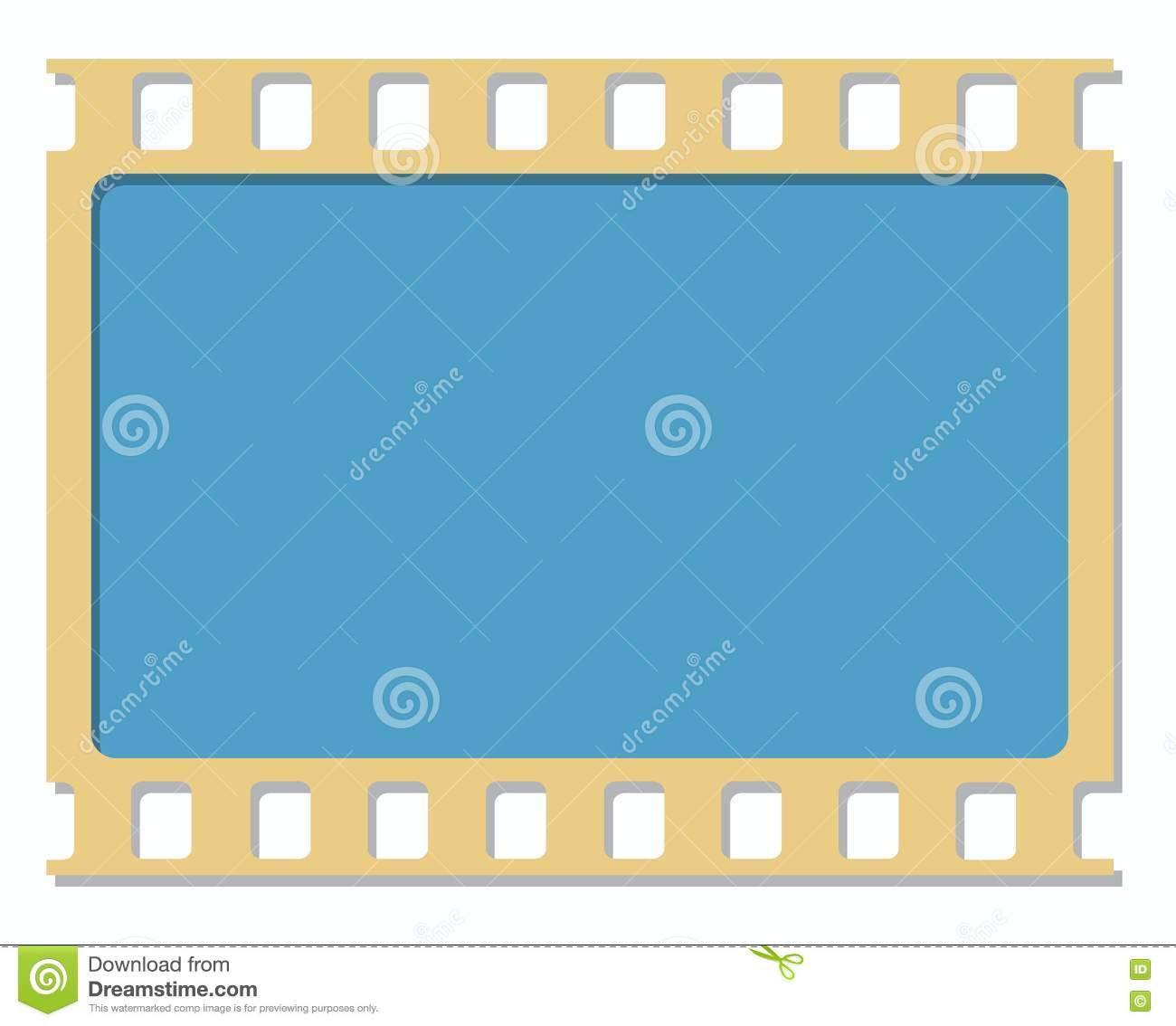 35mm Film Frame Picture  Image: 3973256