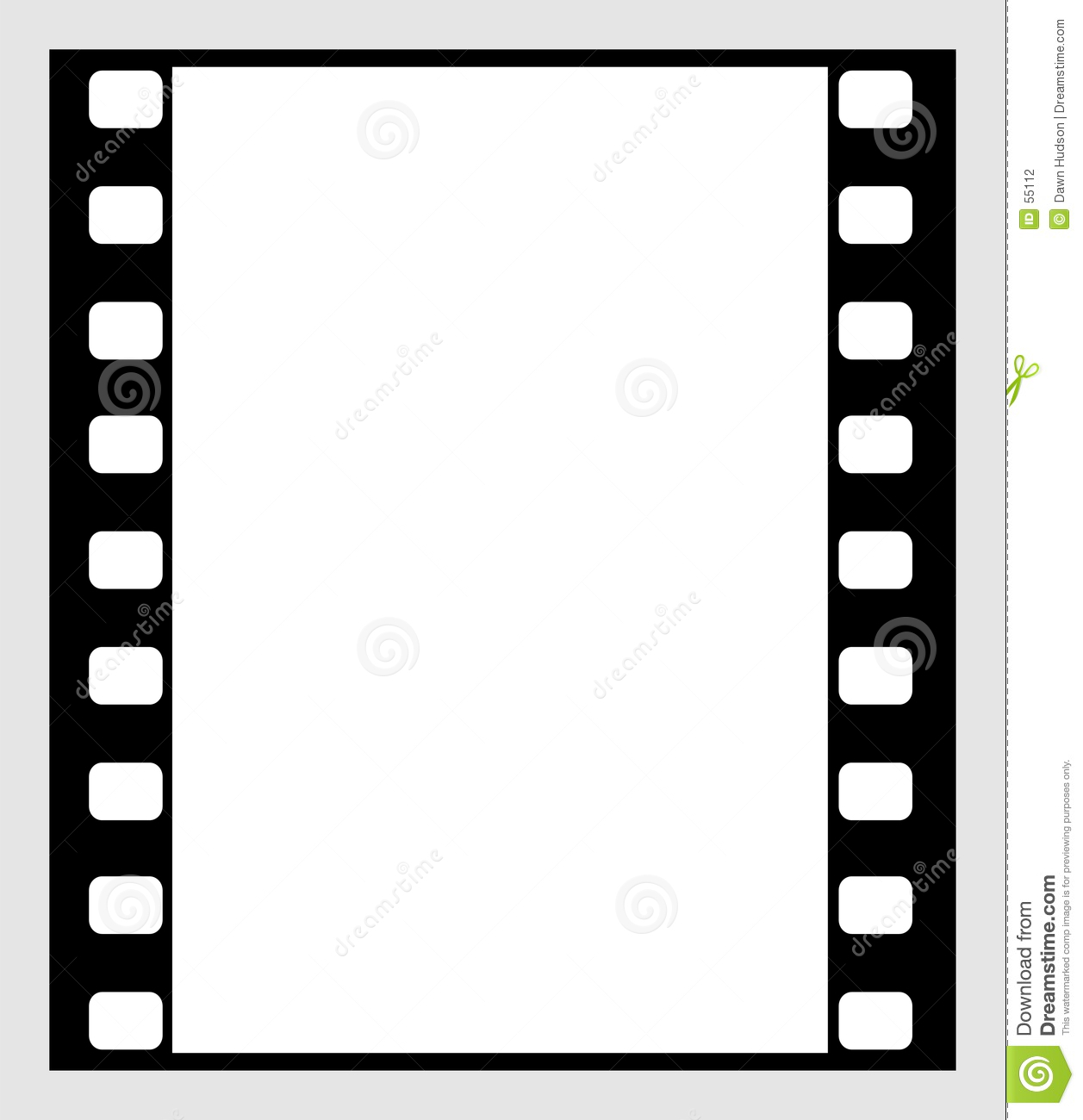 35mm film strip stock vector illustration of frame empty 55112 35mm film strip jeuxipadfo Image collections