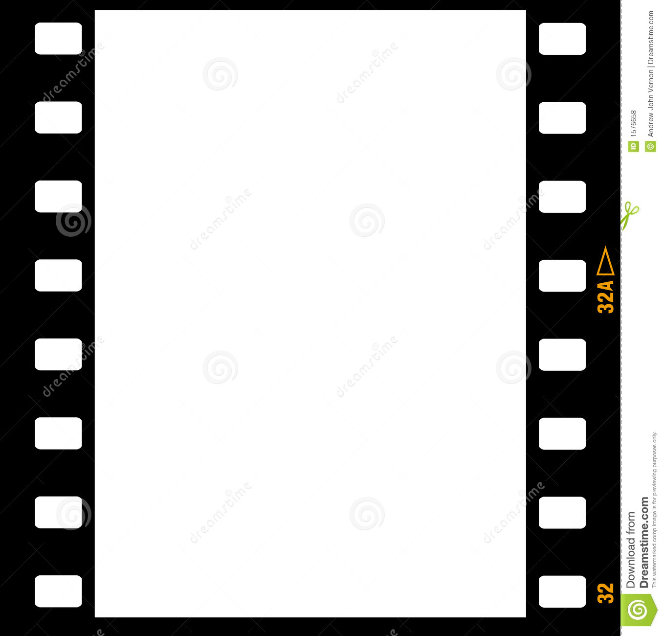 35mm Film Strip Frame Frames Royalty Free Stock Photos - Image ...