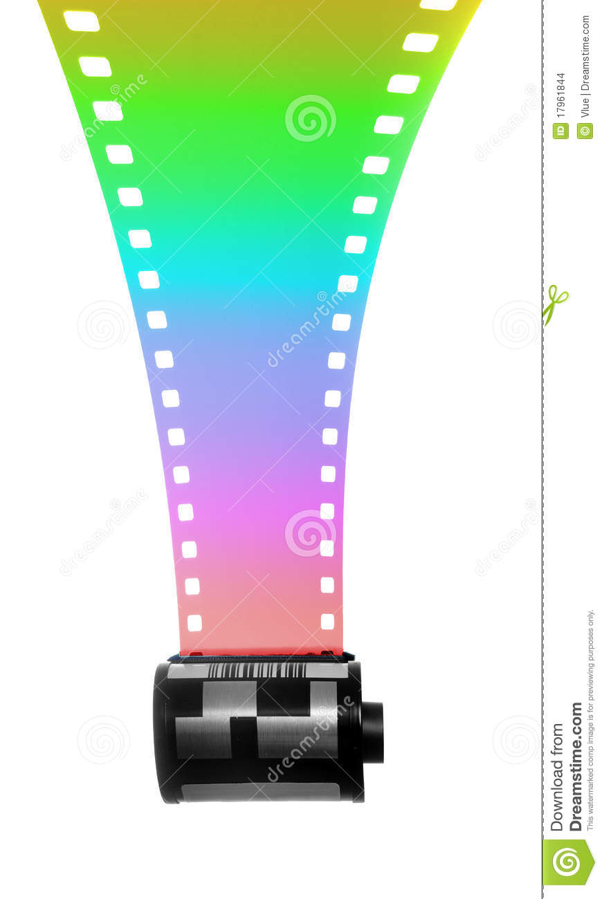 35mm Filmstrip for color