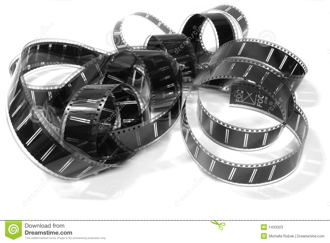 35mm Movie Film Stock Image Image Of Reflection Frames 1433323