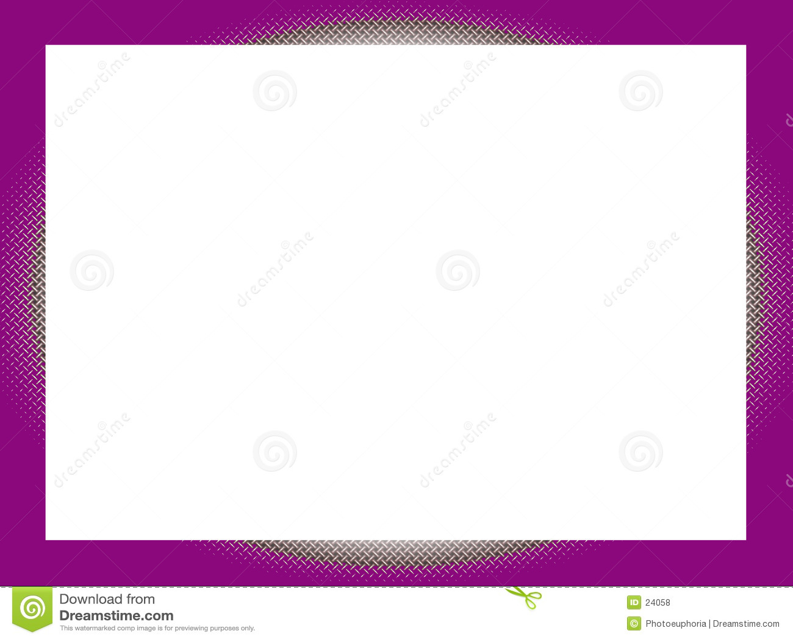 边界十字形紫色