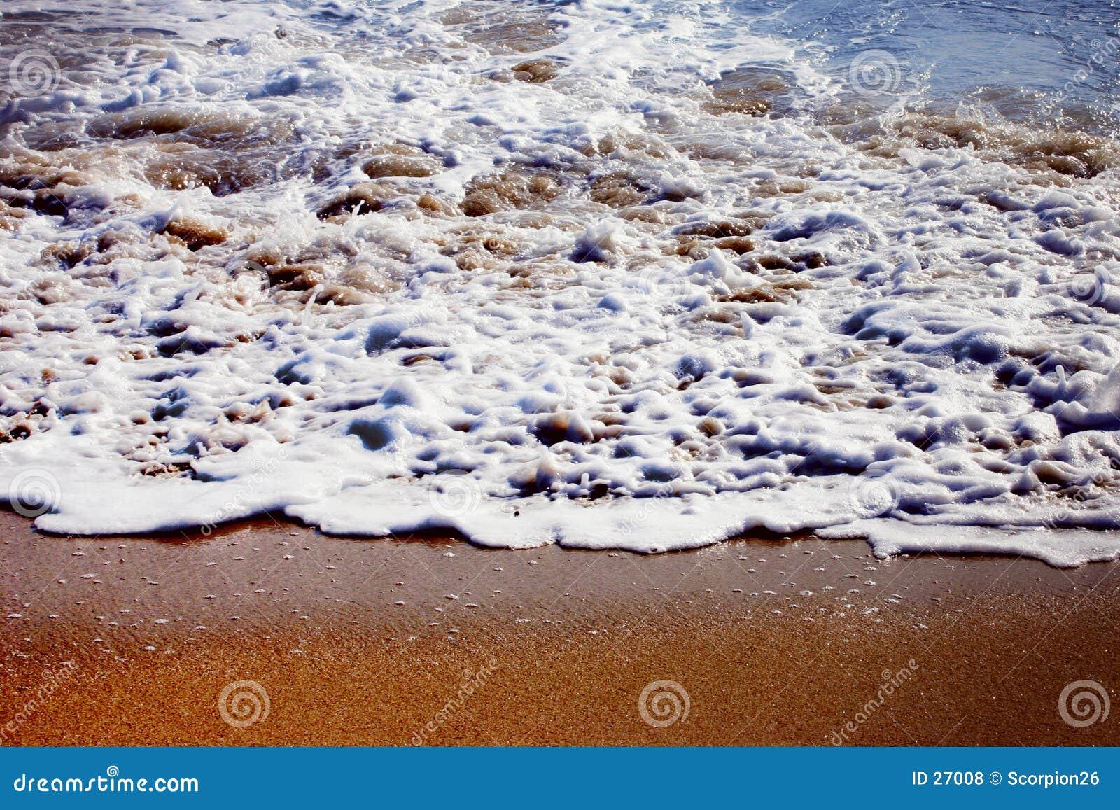 金黄的海滩
