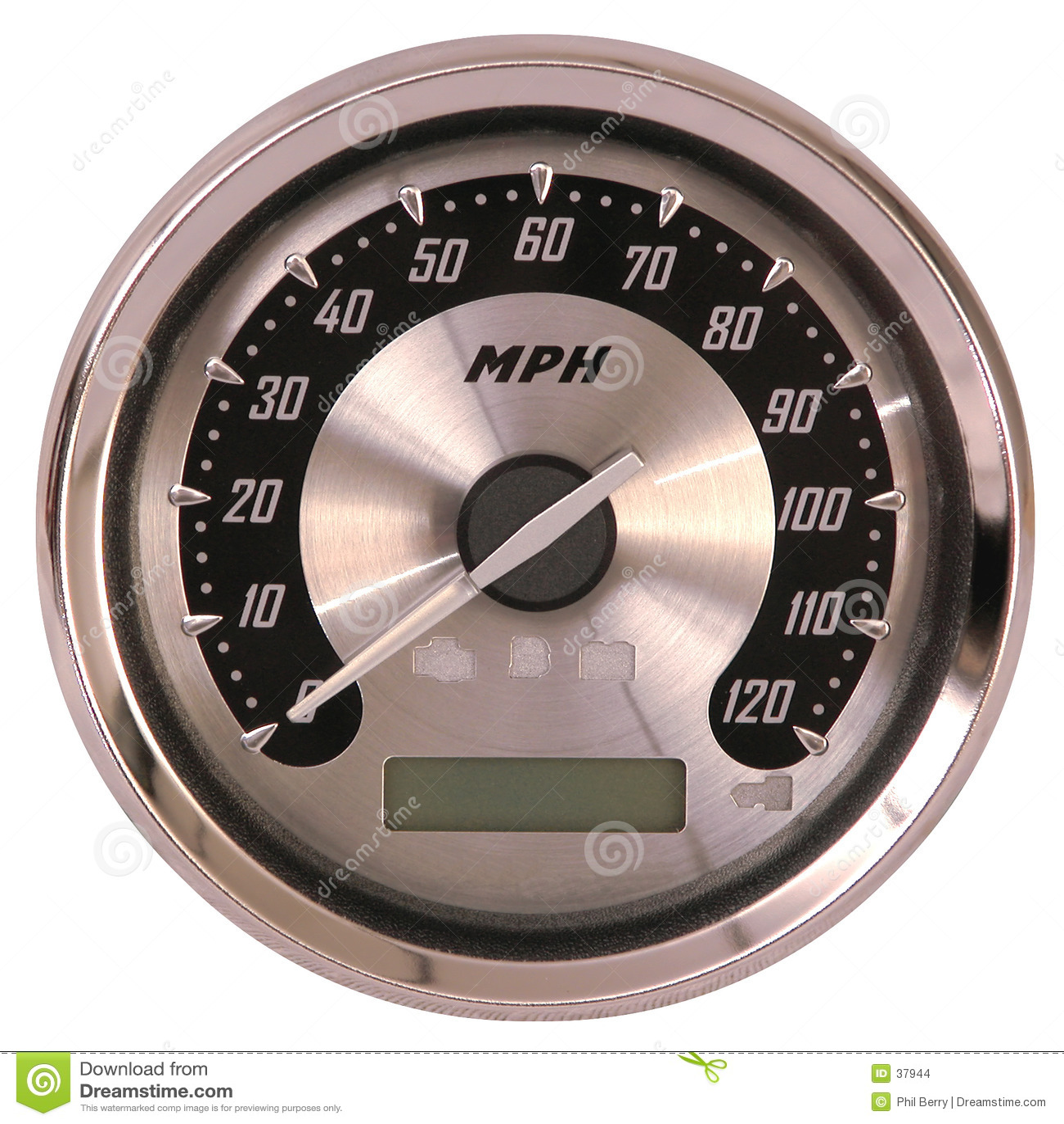 铝表面车速表
