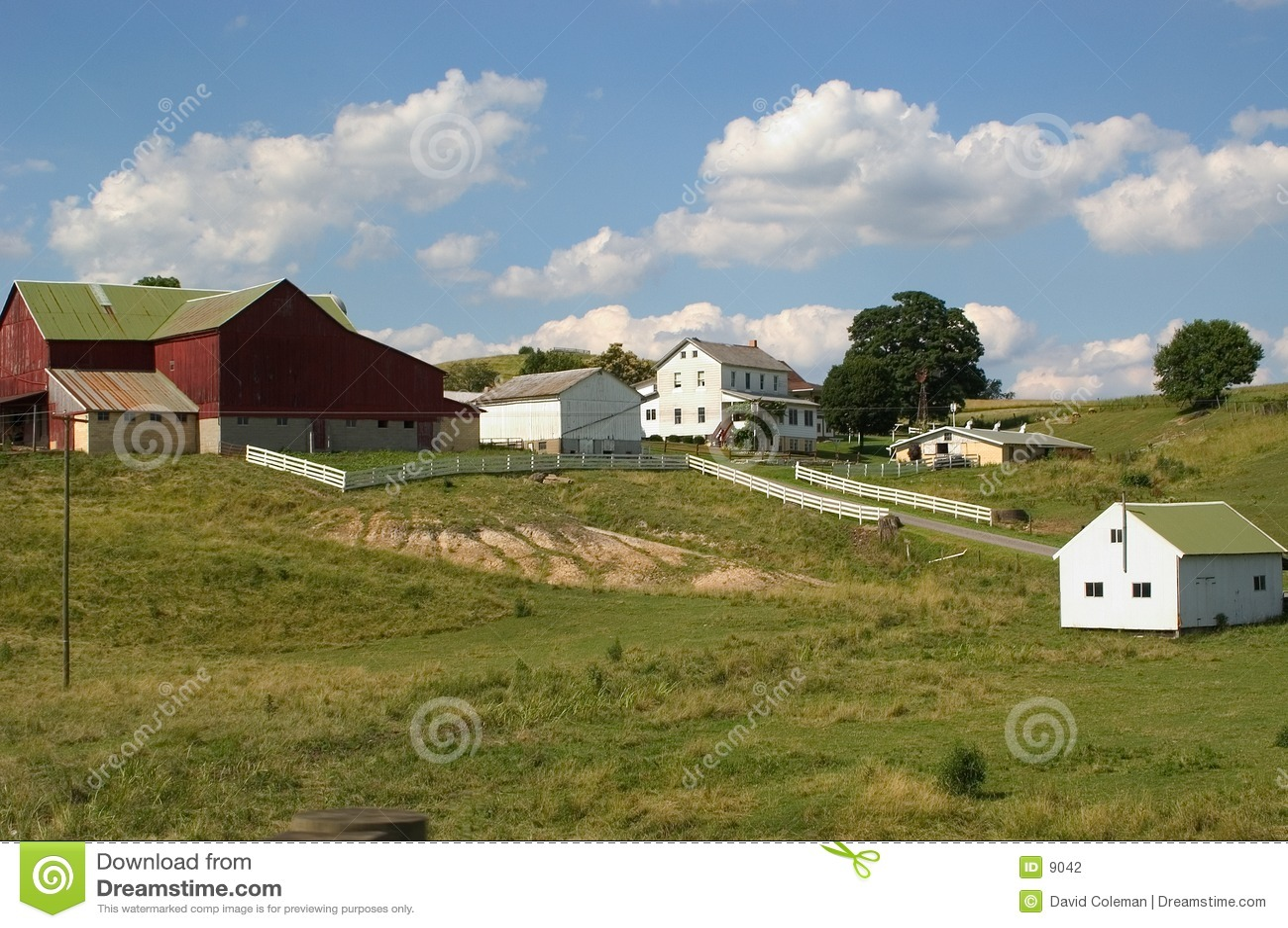 门诺派中的严紧派的农场