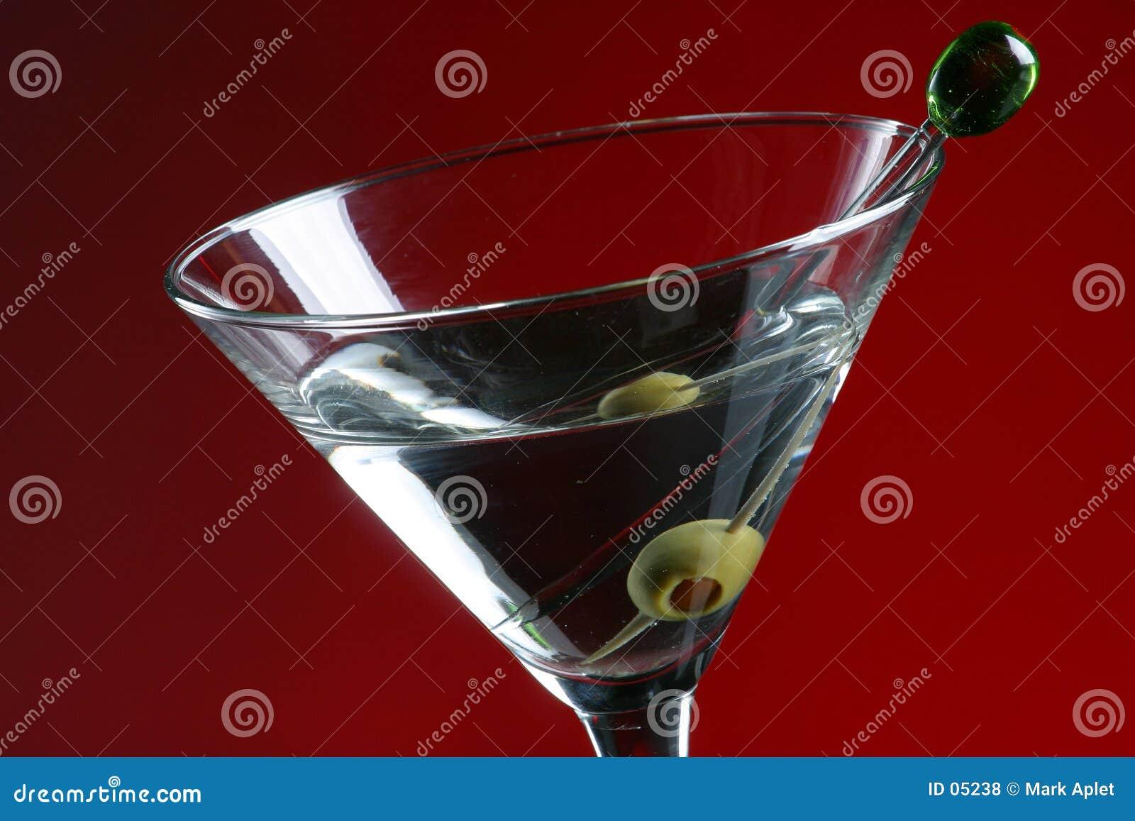 马蒂尼鸡尾酒橄榄