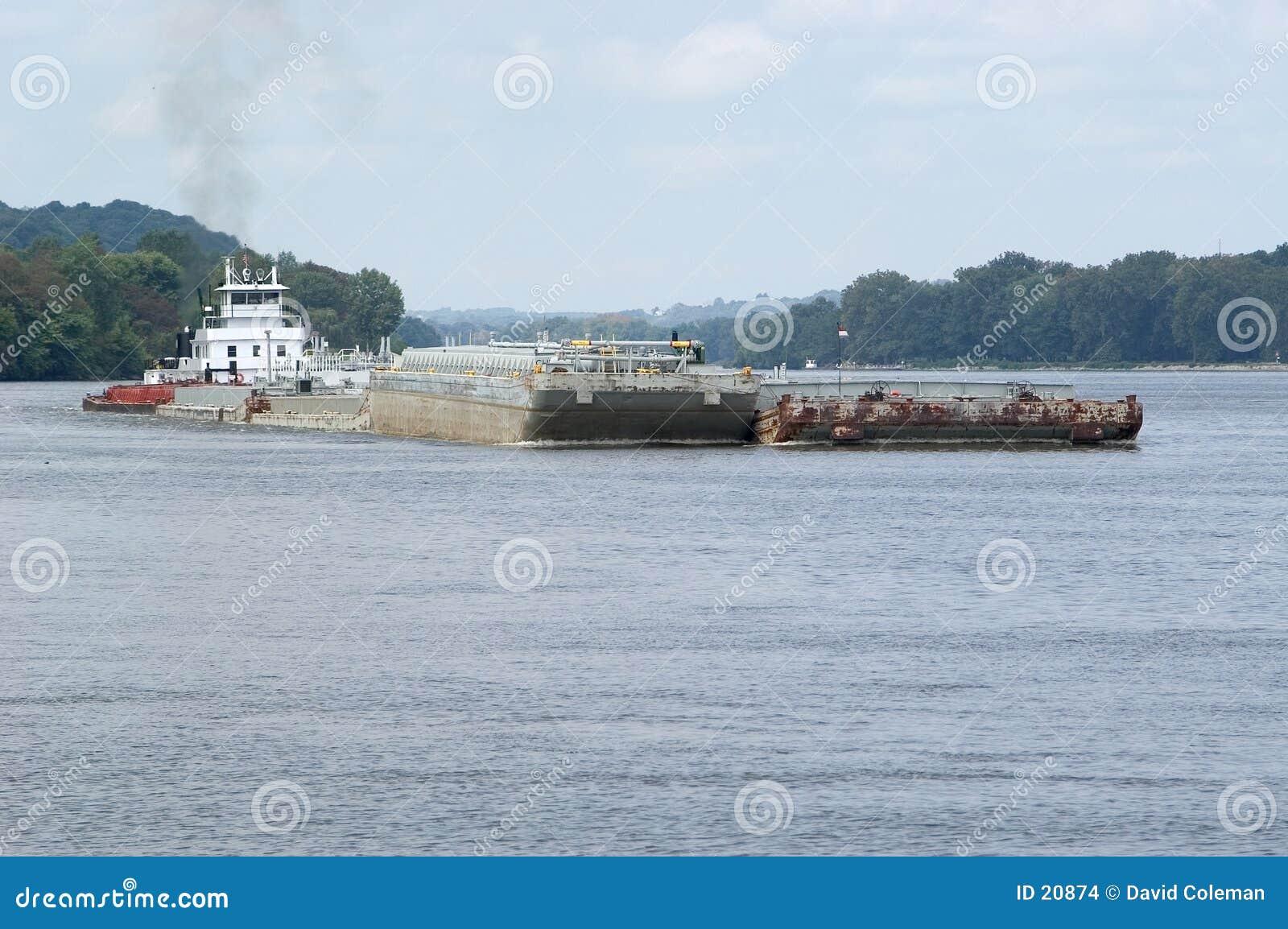 驳船俄亥俄河