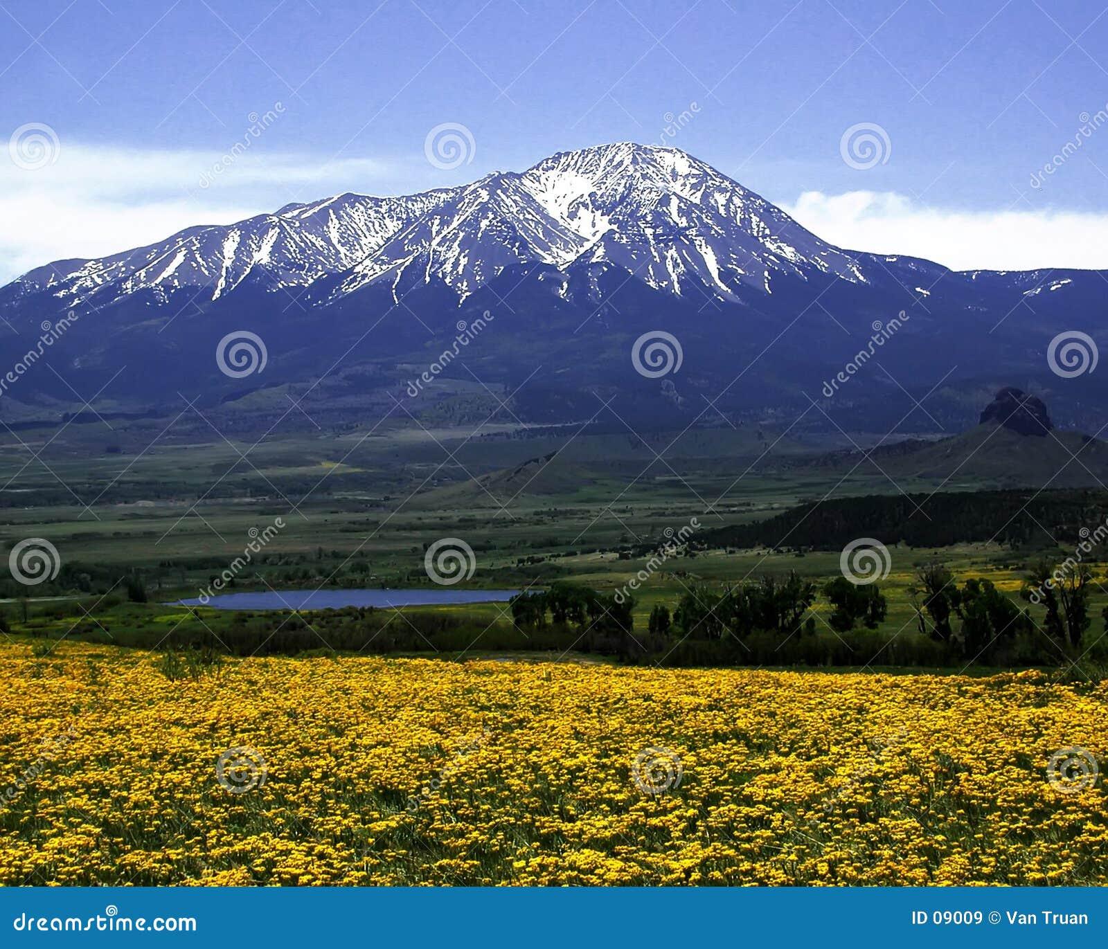 高峰西班牙西部