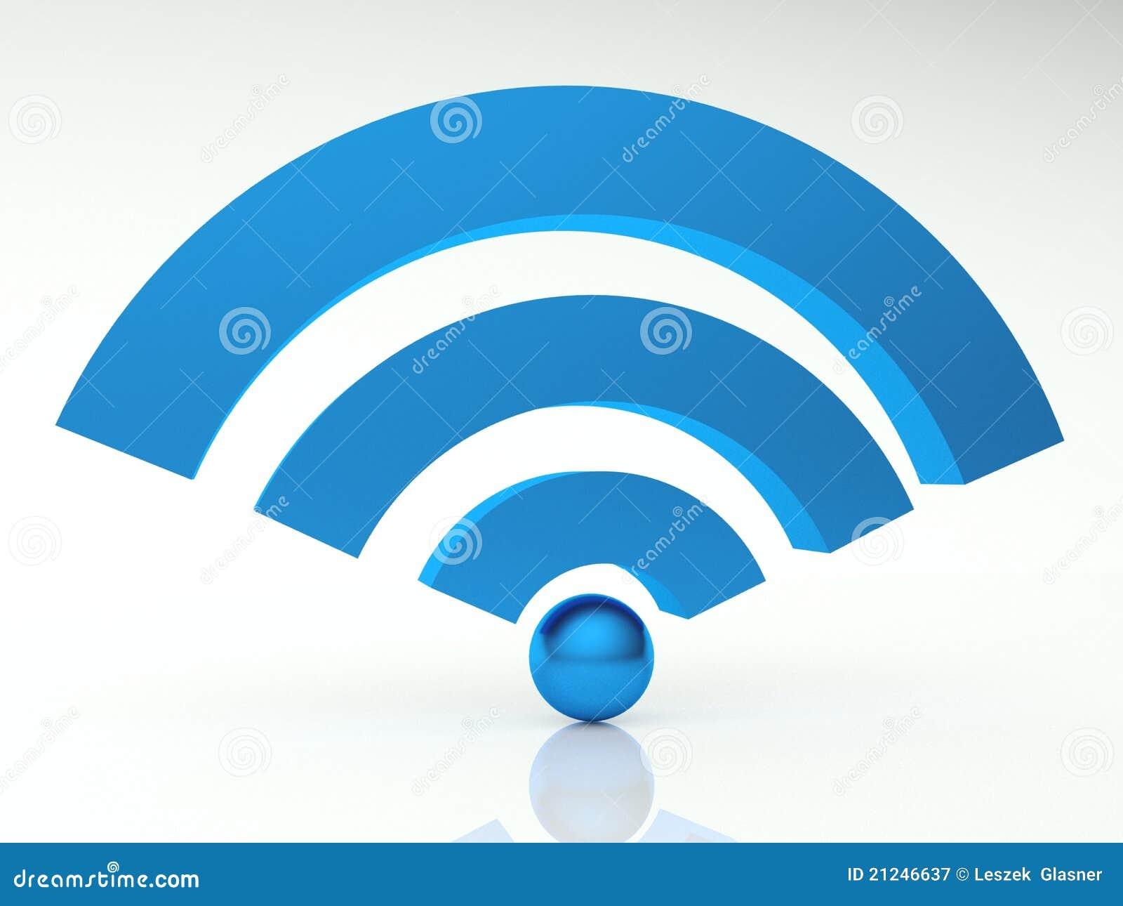 3d图标wifi