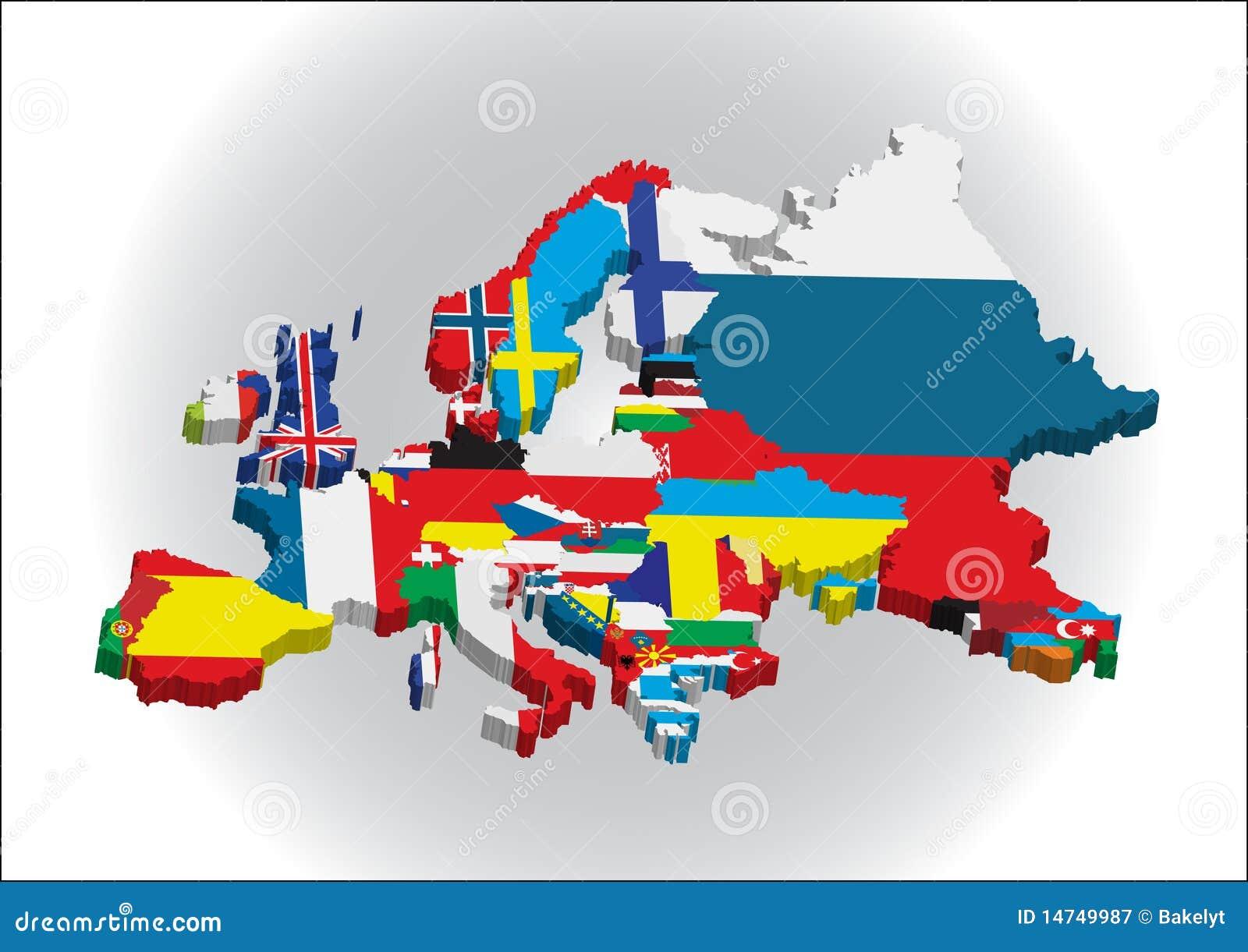 3d大陆欧洲