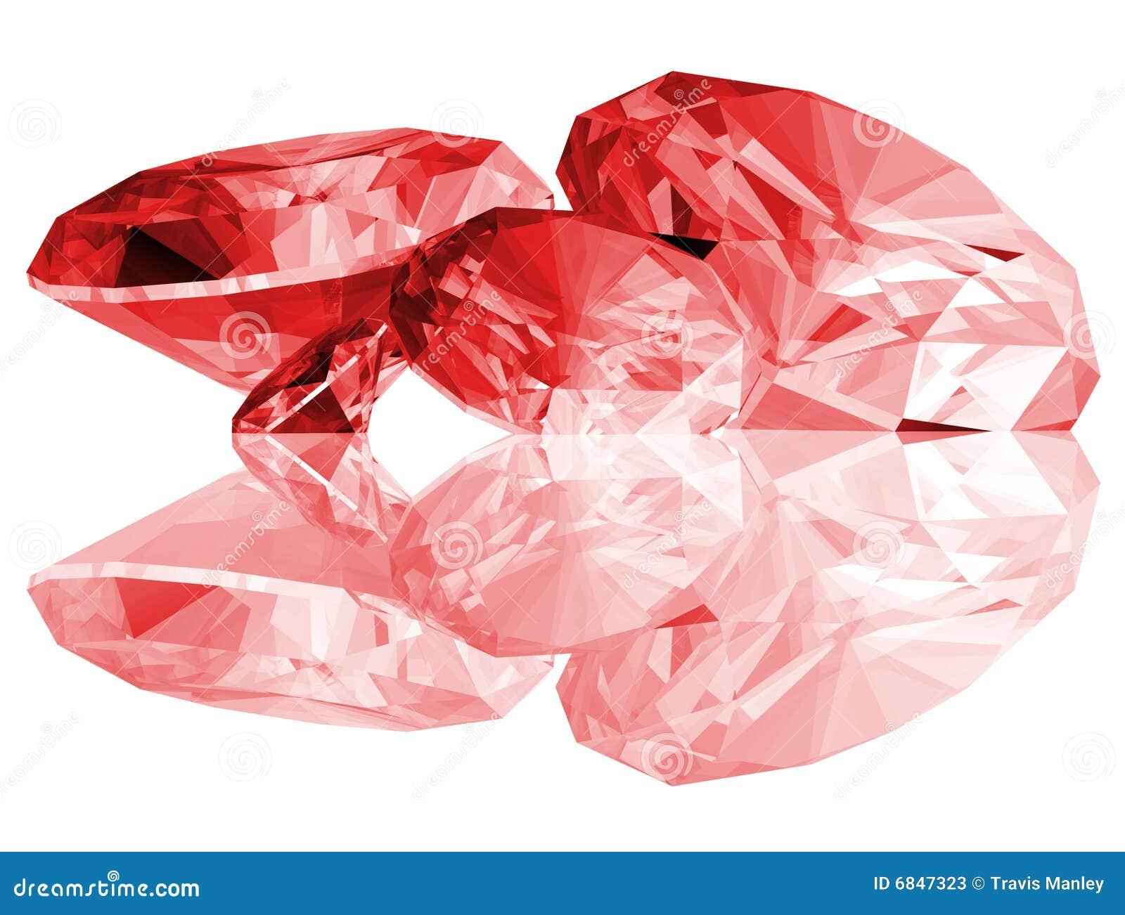 3d宝石查出的红宝石