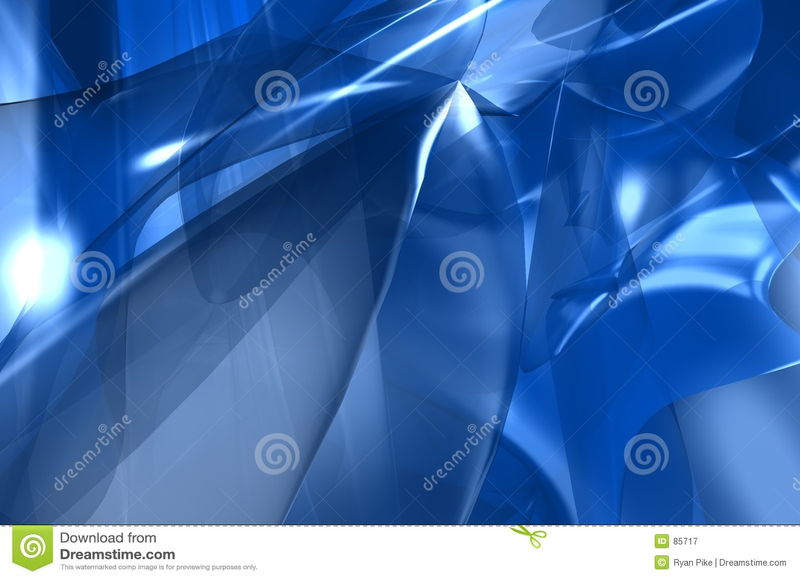 3d抽象蓝色回报