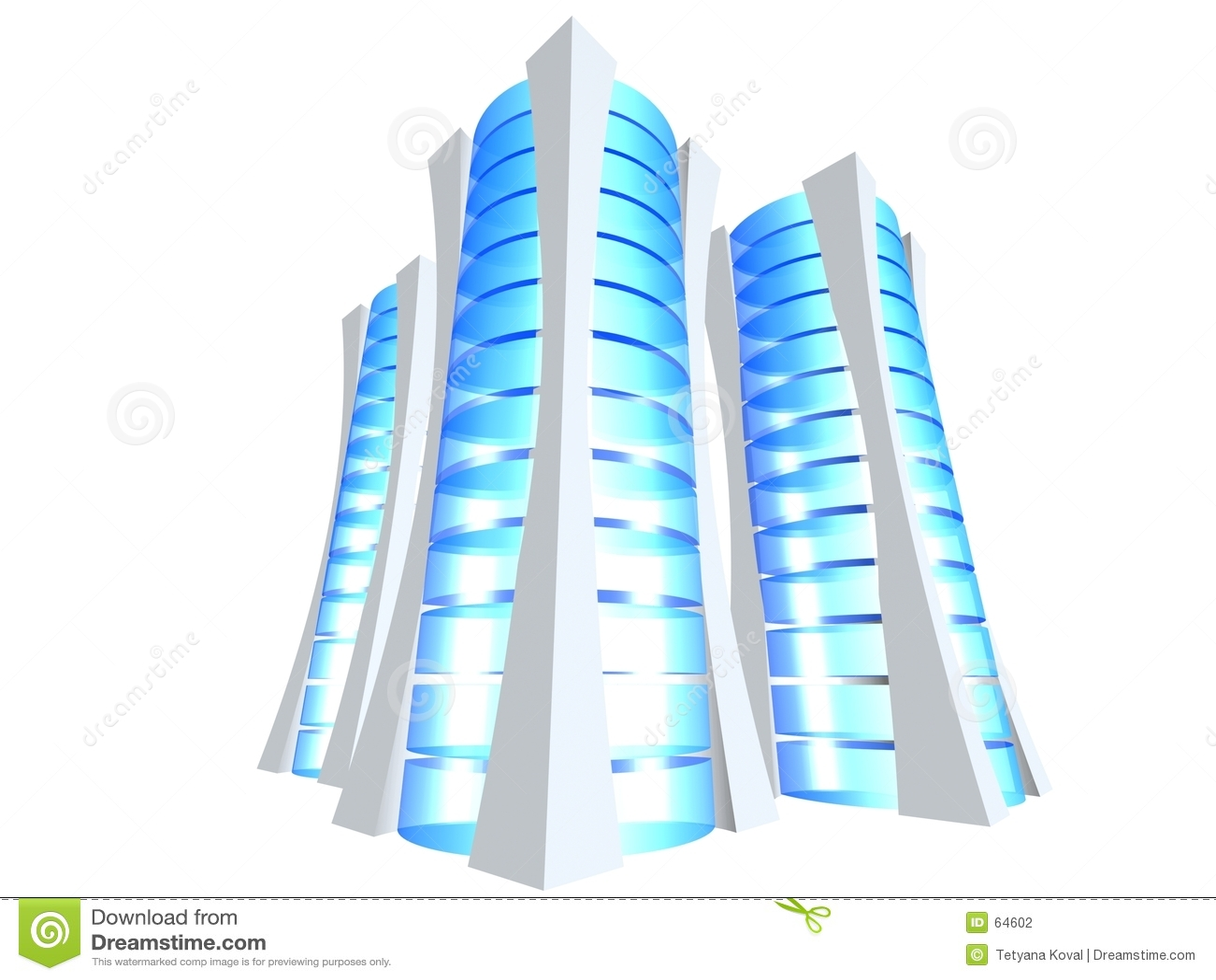 3d服务器三塔