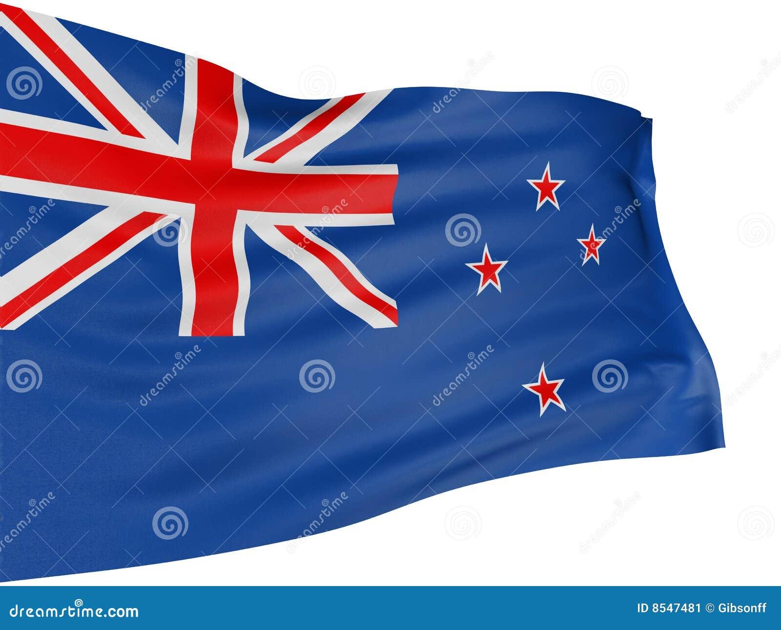 3d标志新西兰