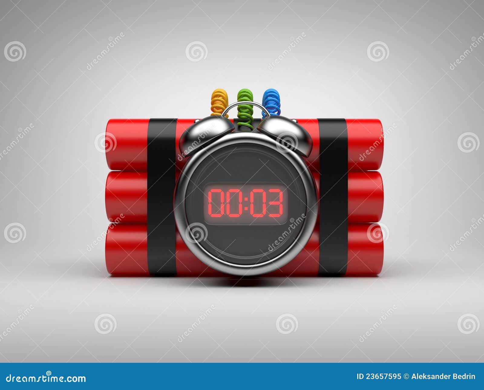 3d炸弹时钟读秒定时器