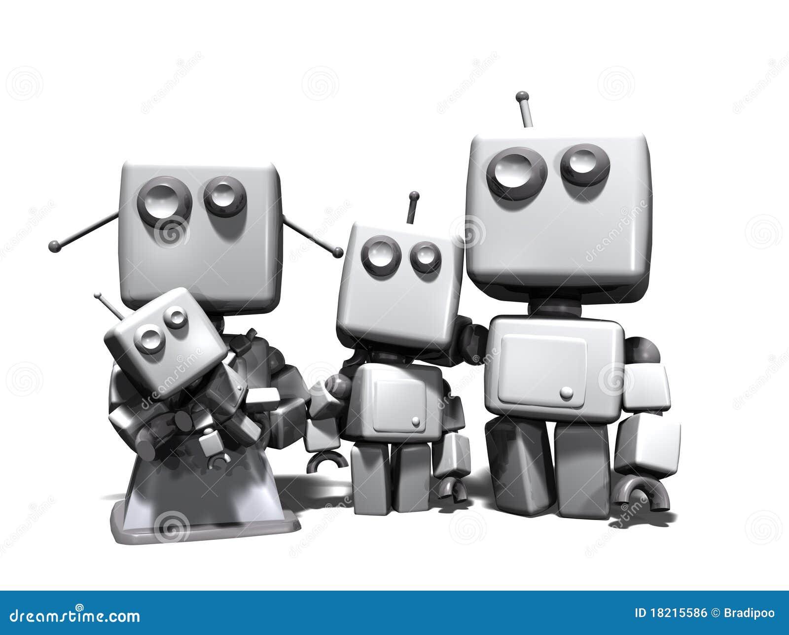 3d系列机器人图片