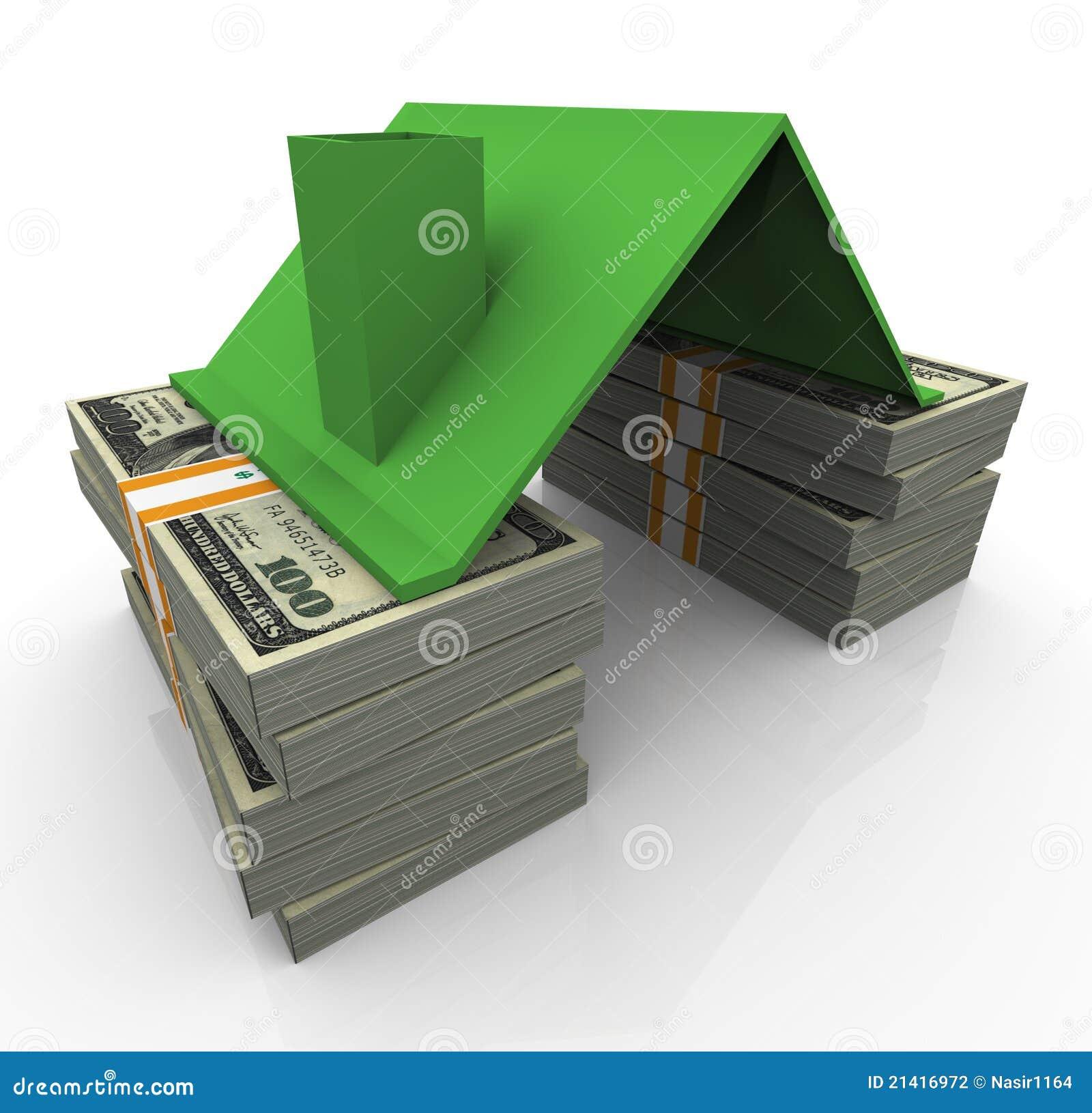 3d美元房子