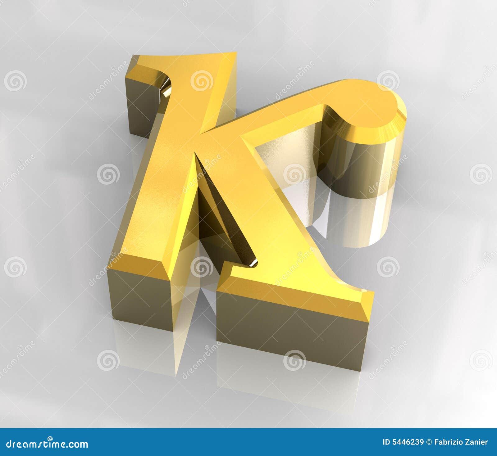 3d金Kappa符号