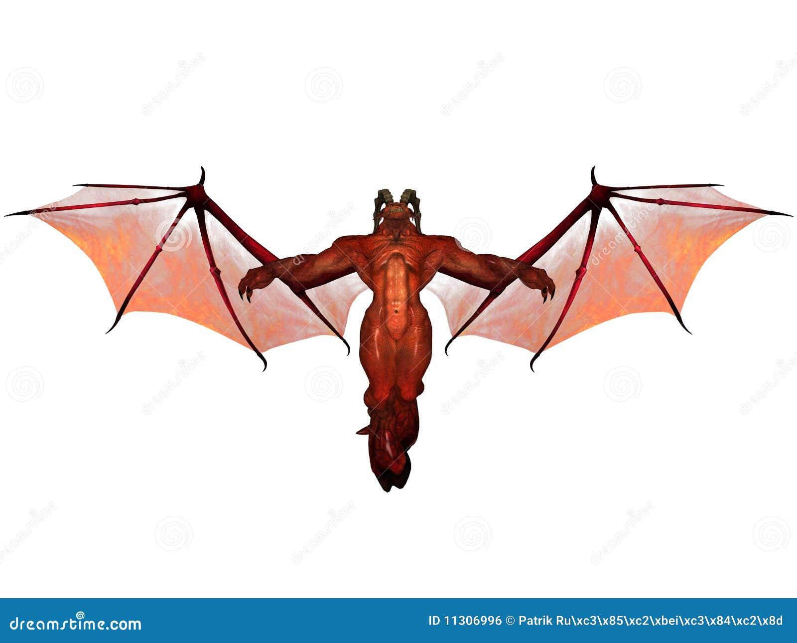 3D übertrug Dämon