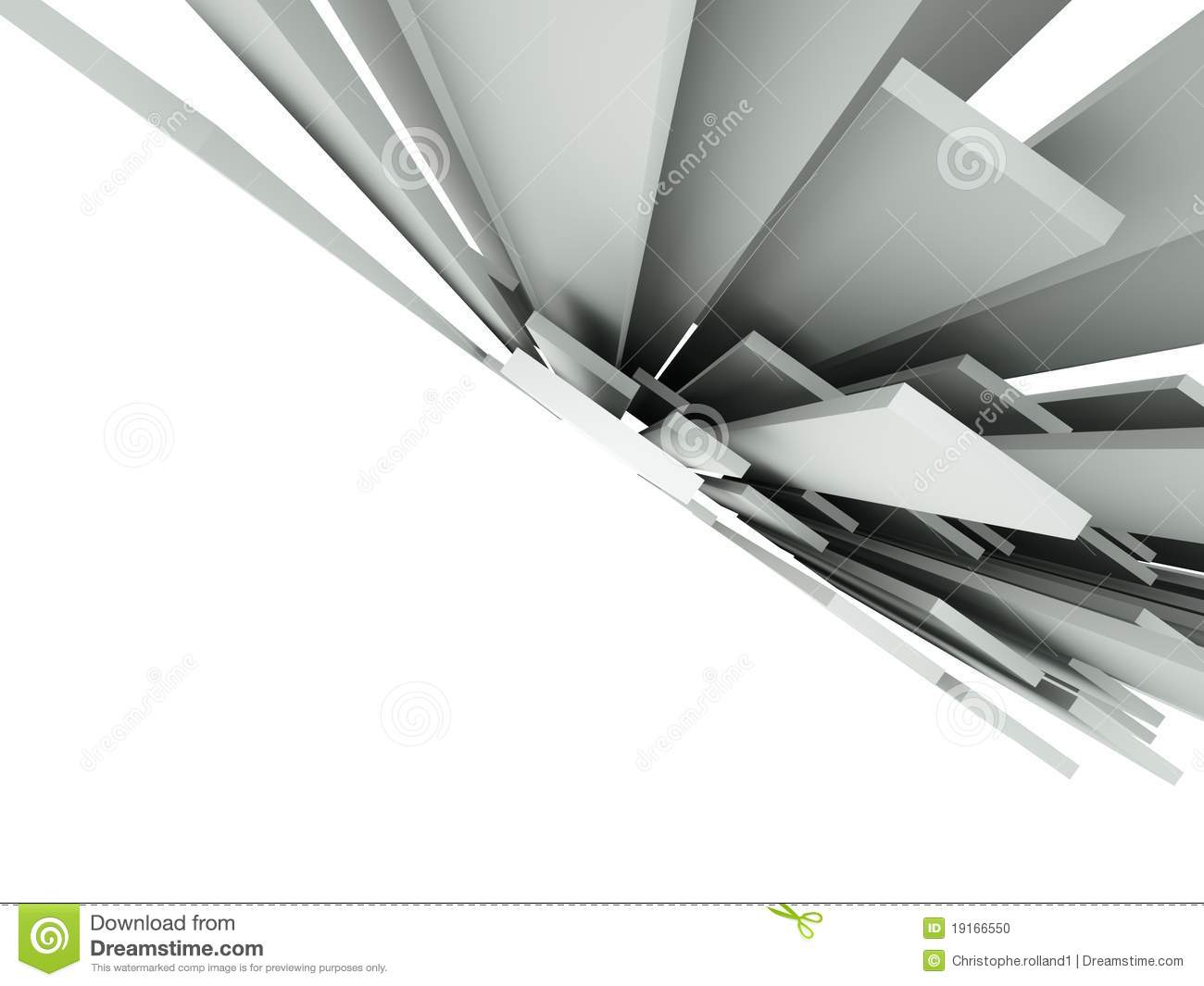 3d abstract architectural design - photo #16