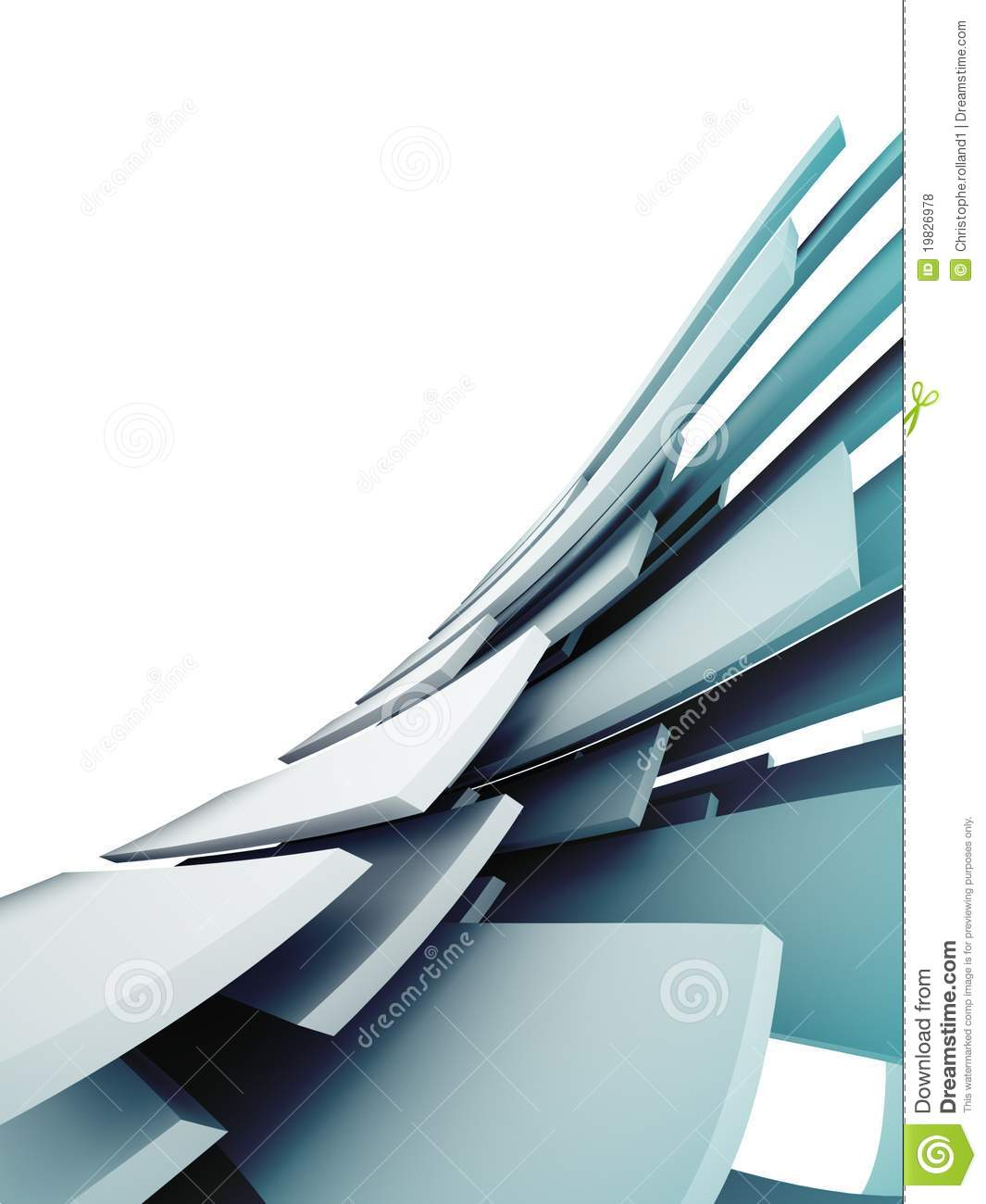 3d abstract architectural design - photo #1