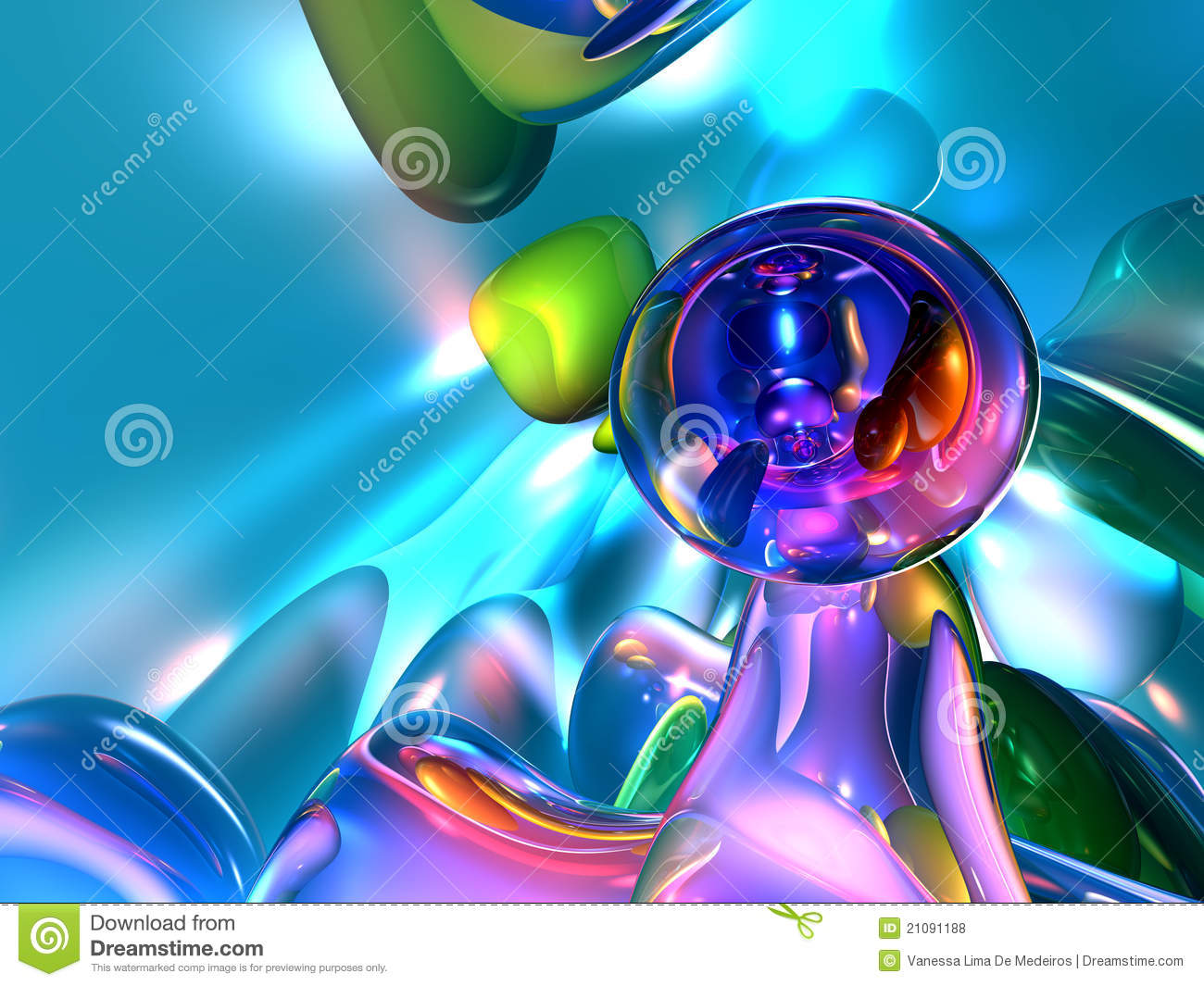 Pics photos 3d colorful abstract background design - Abstract Background Colorful Glassy Render Wallpaper