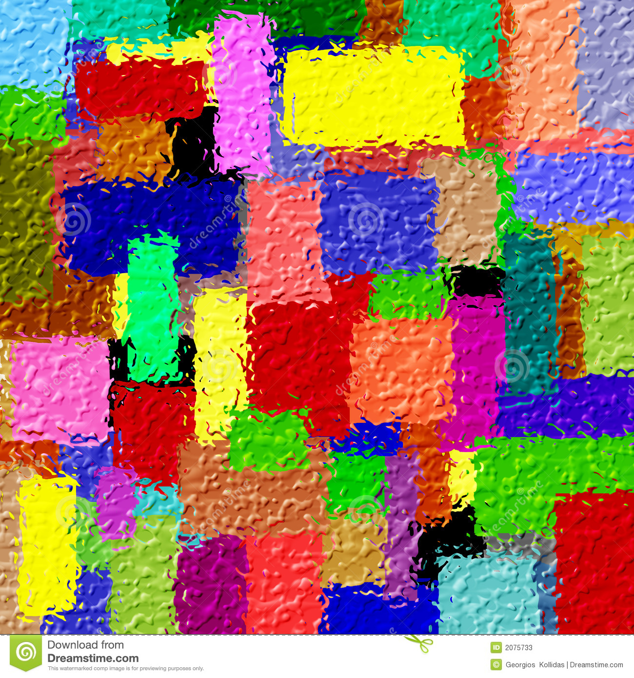 3D Abstract Colorfull Design Stock Photos - Image: 2075733