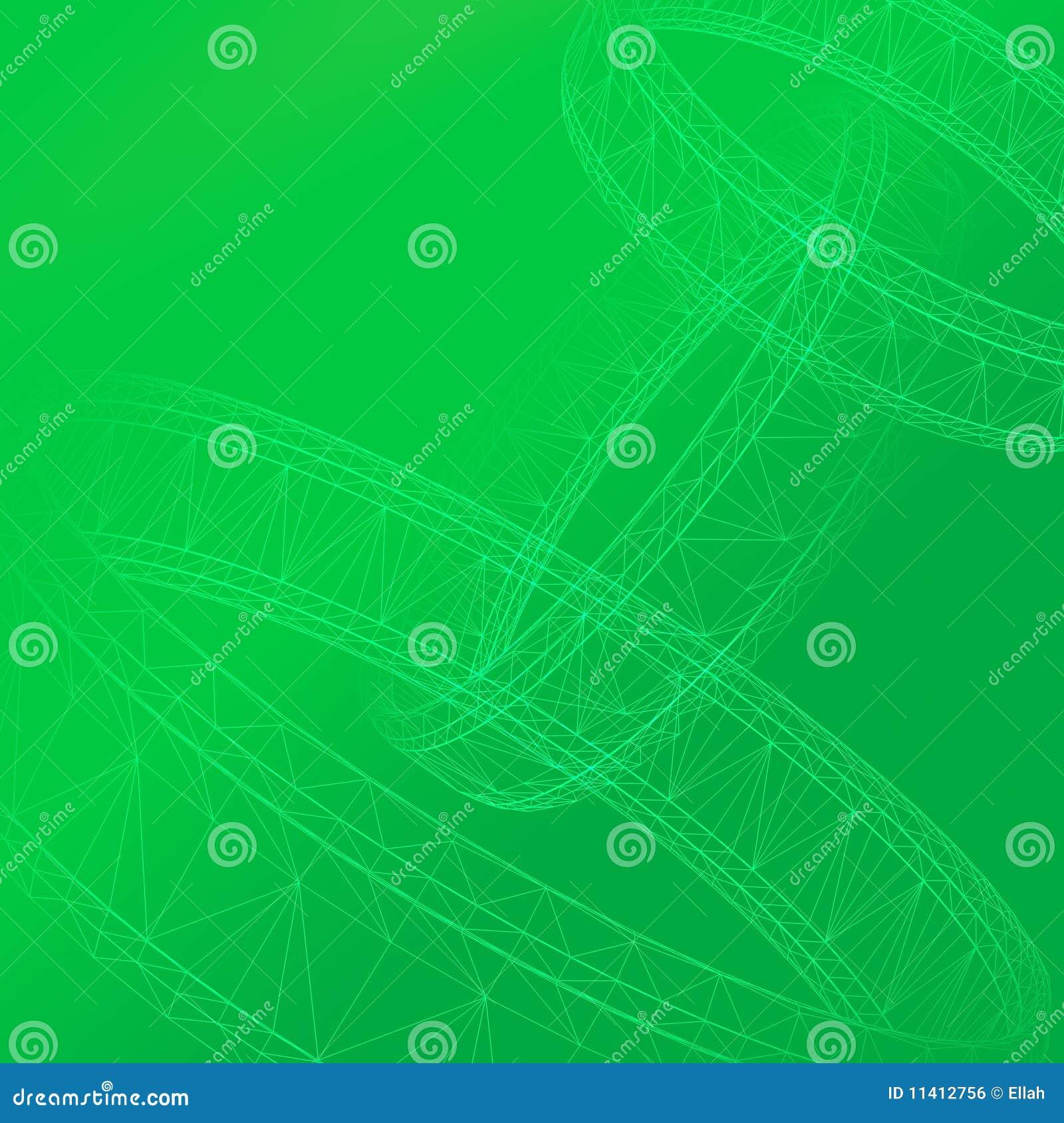 3d abstract green clown - photo #14