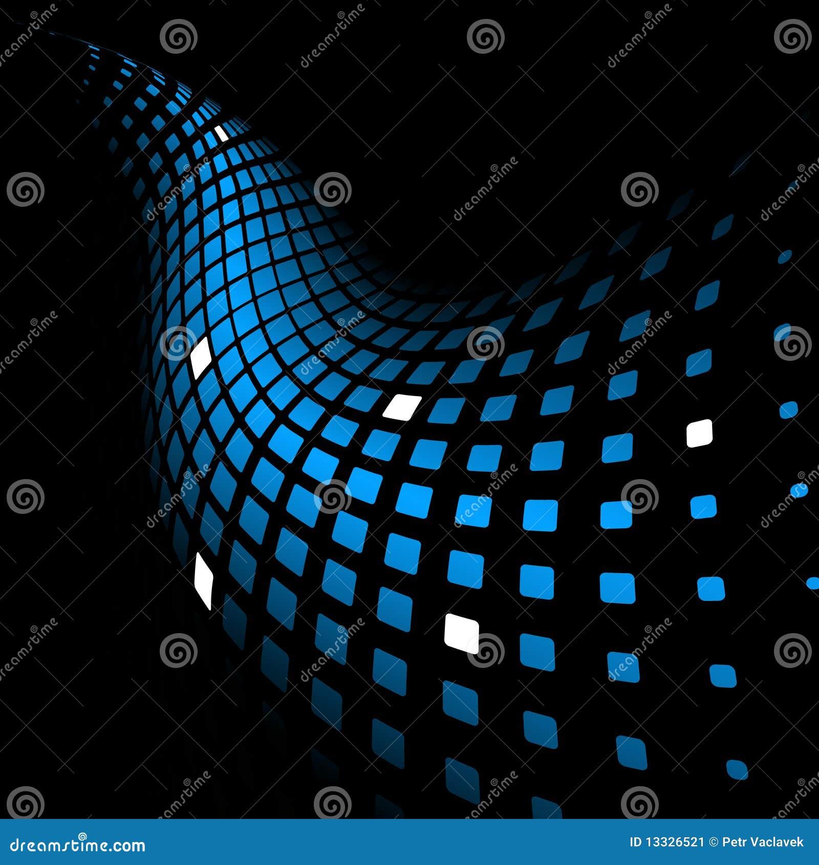 3d abstrakcjonistycznego tła błękitny dynamiczny