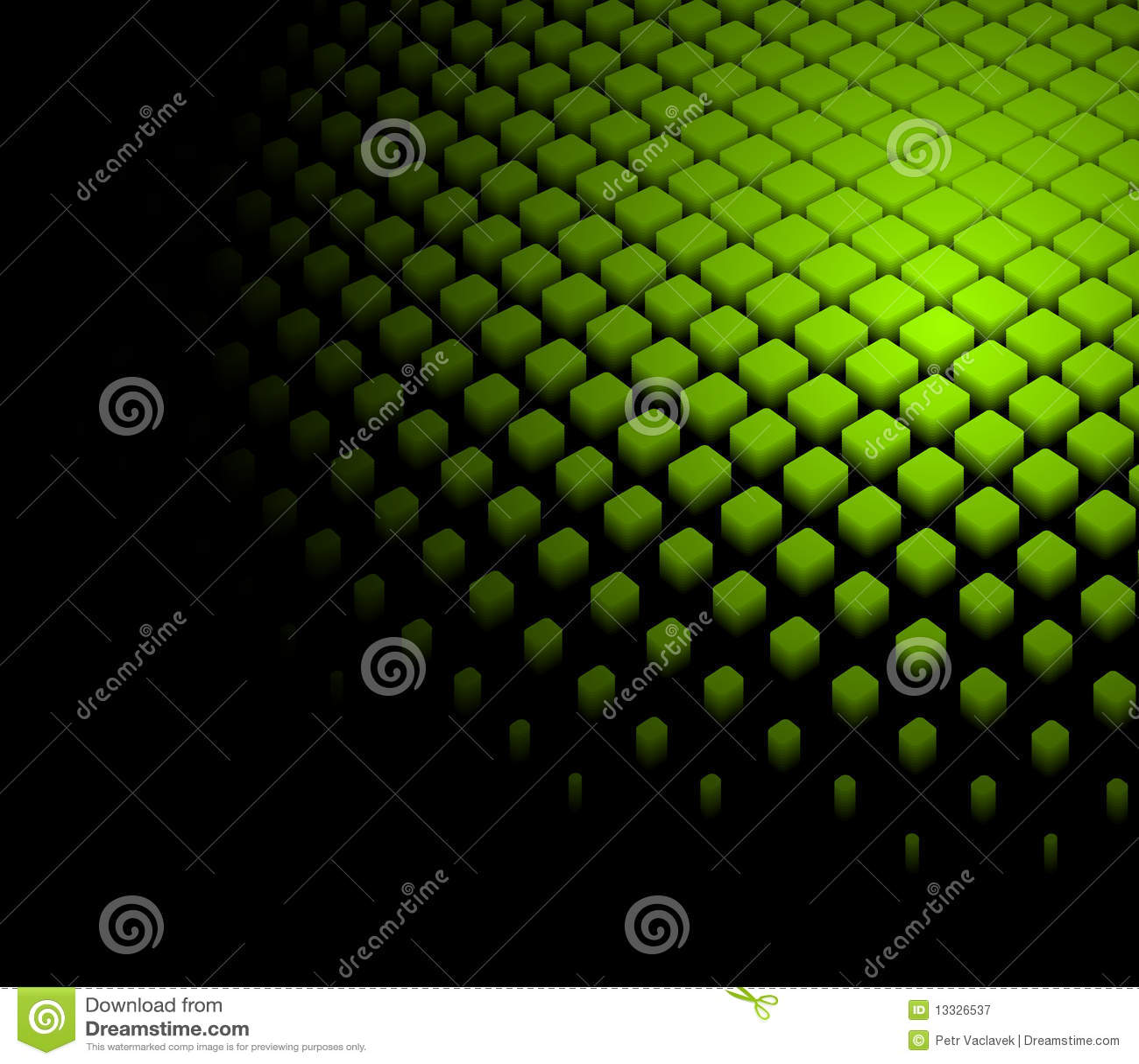 3d abstrakcjonistycznego tła dynamiczna zieleń