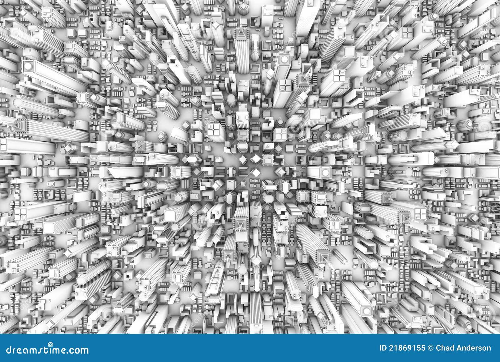3d abstrakcjonistyczny tło