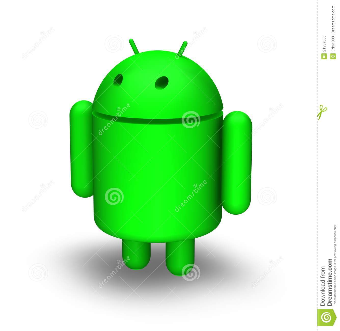 3d Android Editorial Photo - Image: 21987066