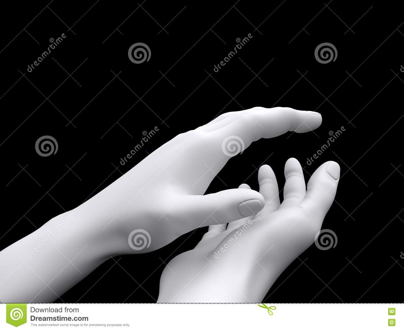 3d Applause Stock Image