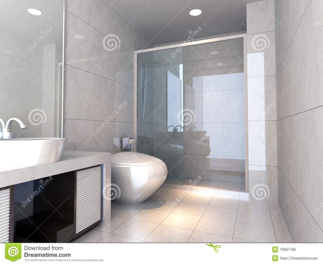 3d bathroom royalty free stock photos image 13697768 bathroom design