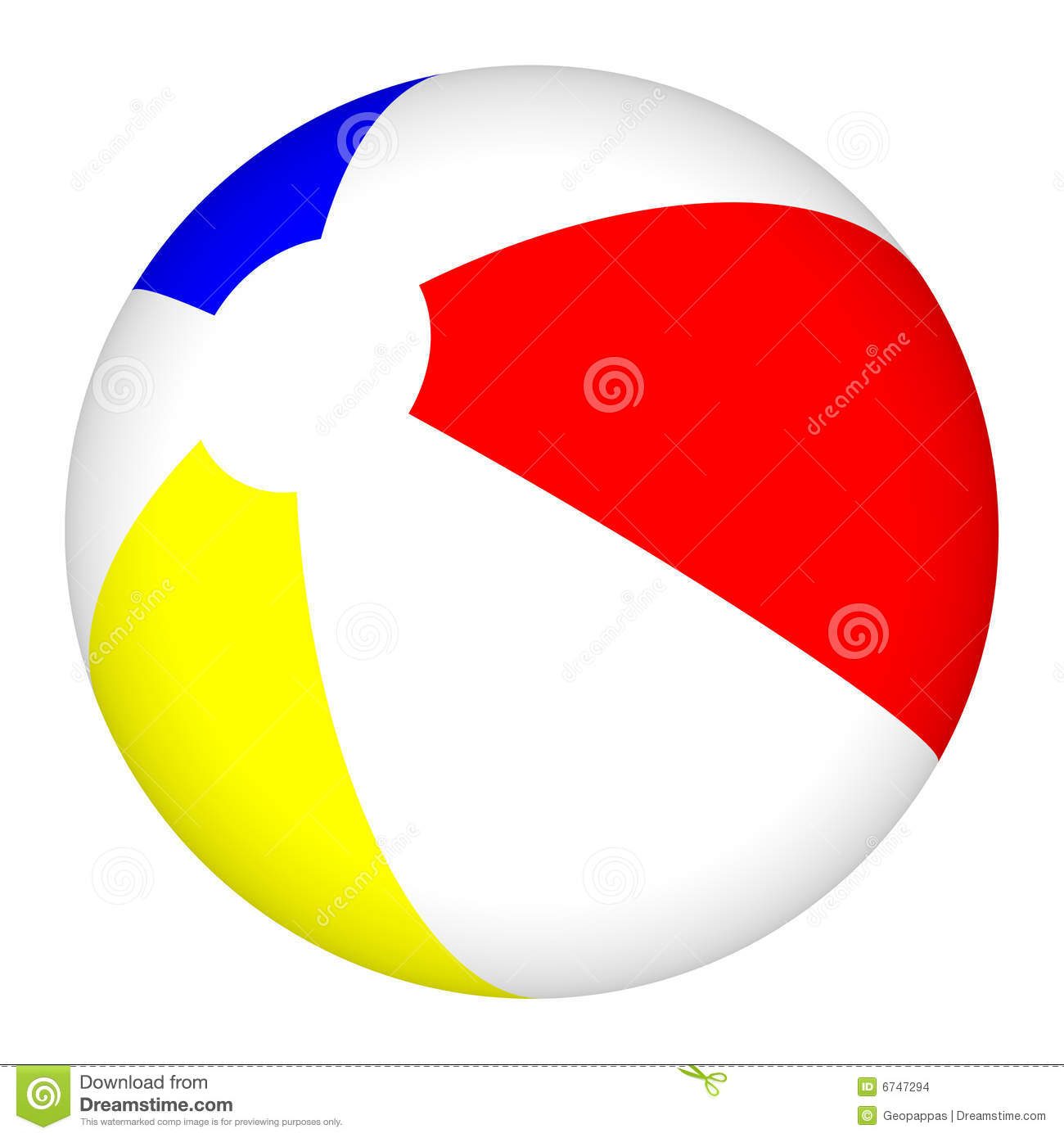 Clip Art Beach Ball 3d beach ball beachball