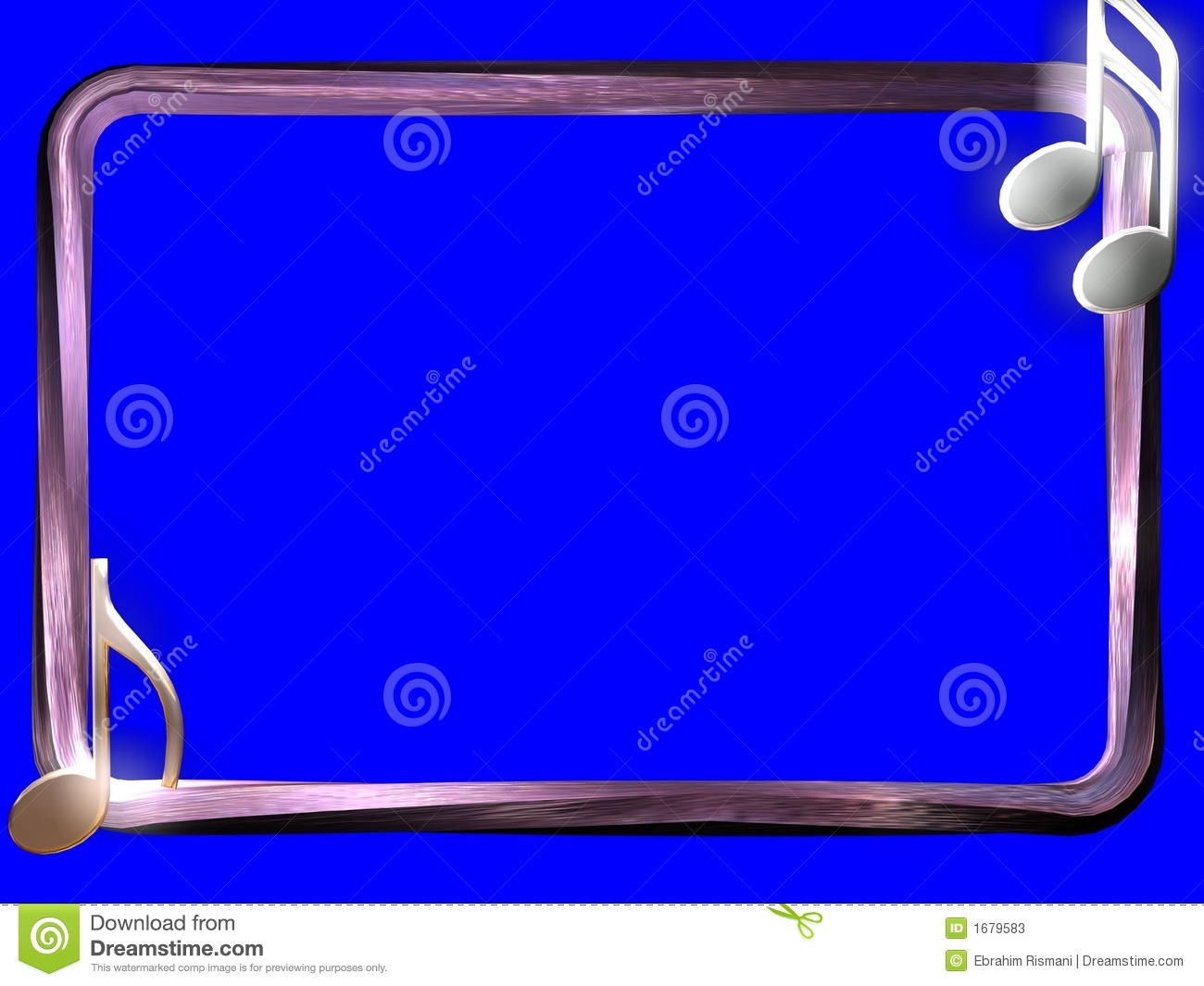 3D BORDER Stock Illustration. Illustration Of Silver