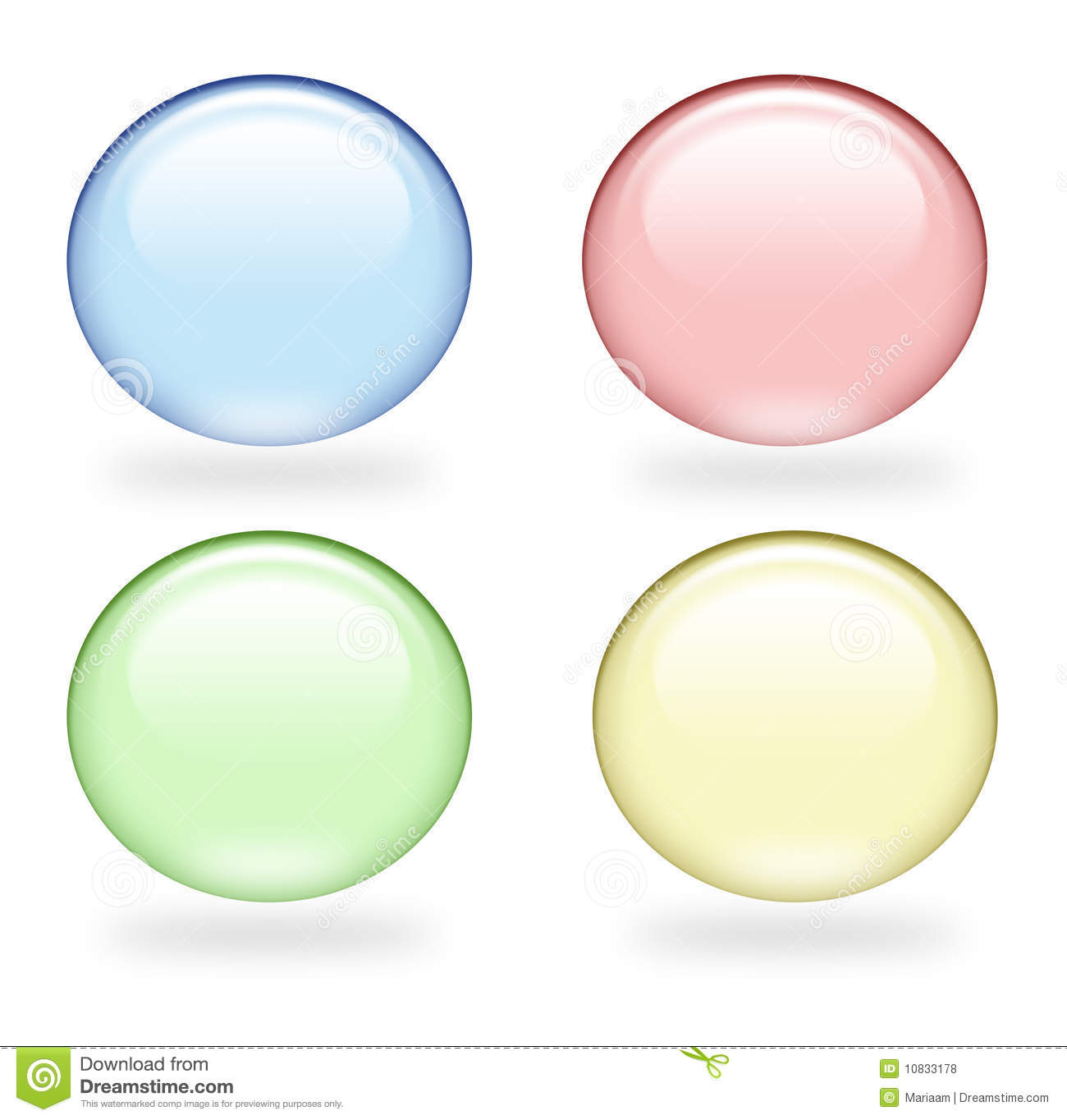 3d Bubbles Royalty Free Stock Photos Image 10833178