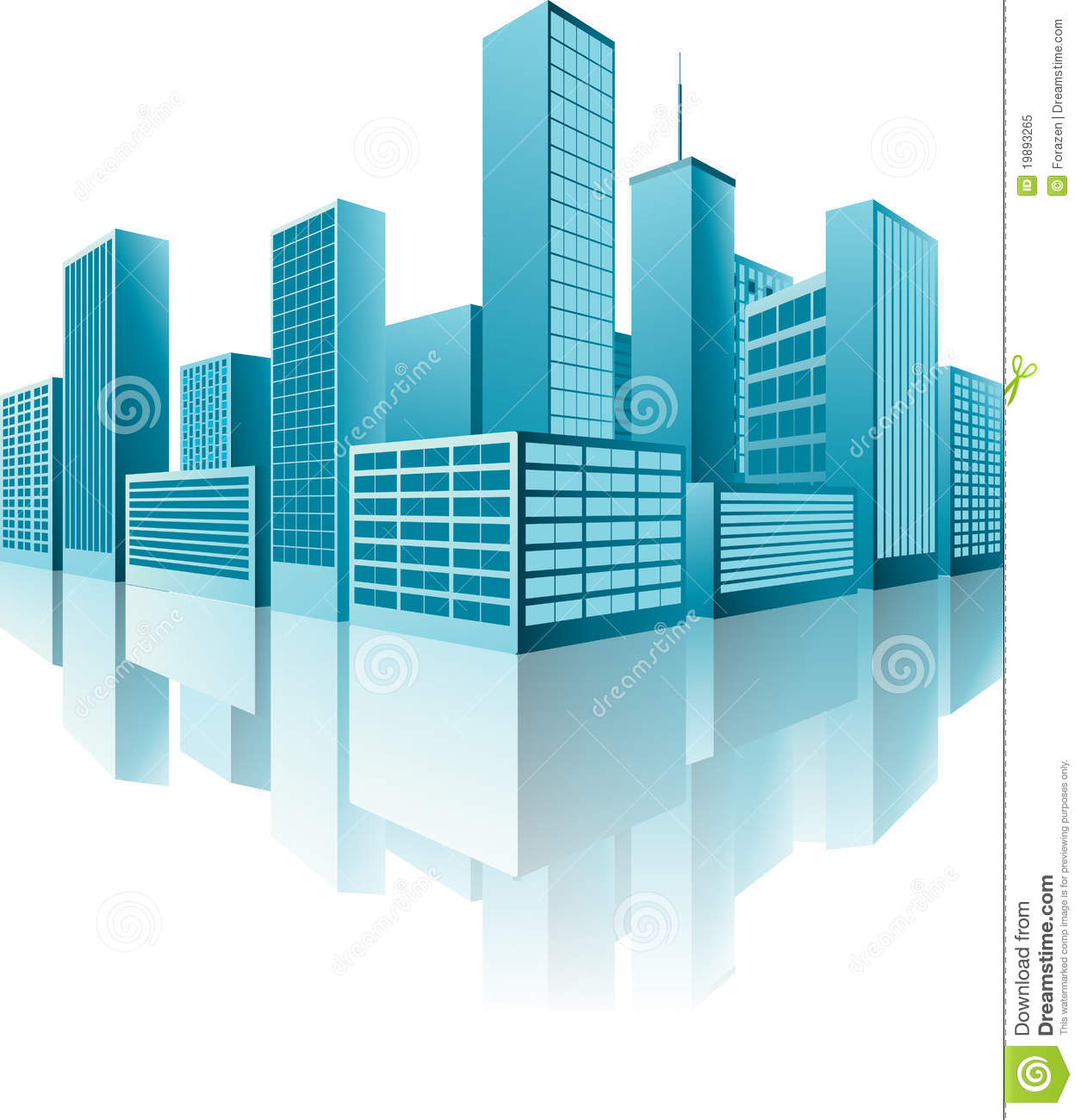 3d buildings stock vector image of landmark cold Build house online 3d free