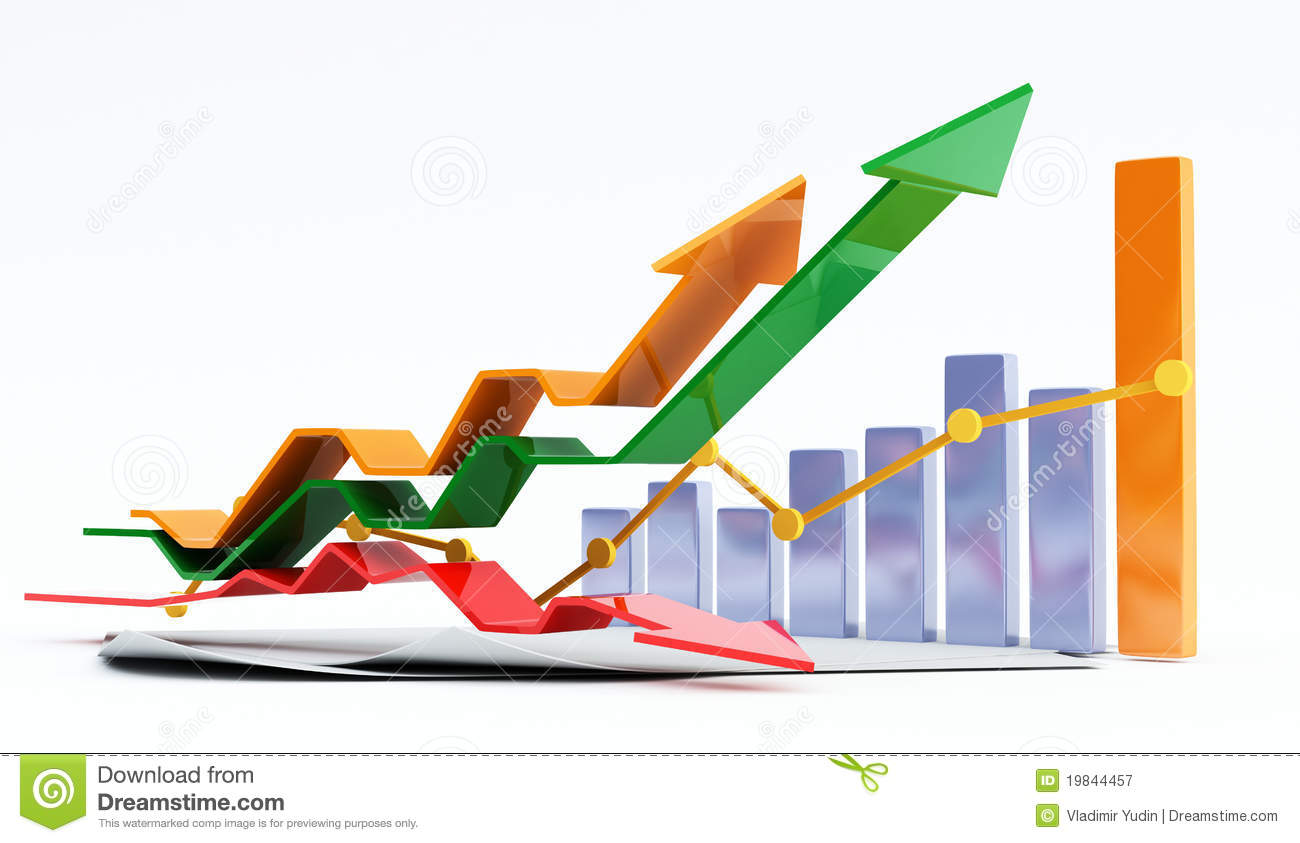 3d business chart royalty free stock photography image 3 wire diagram man