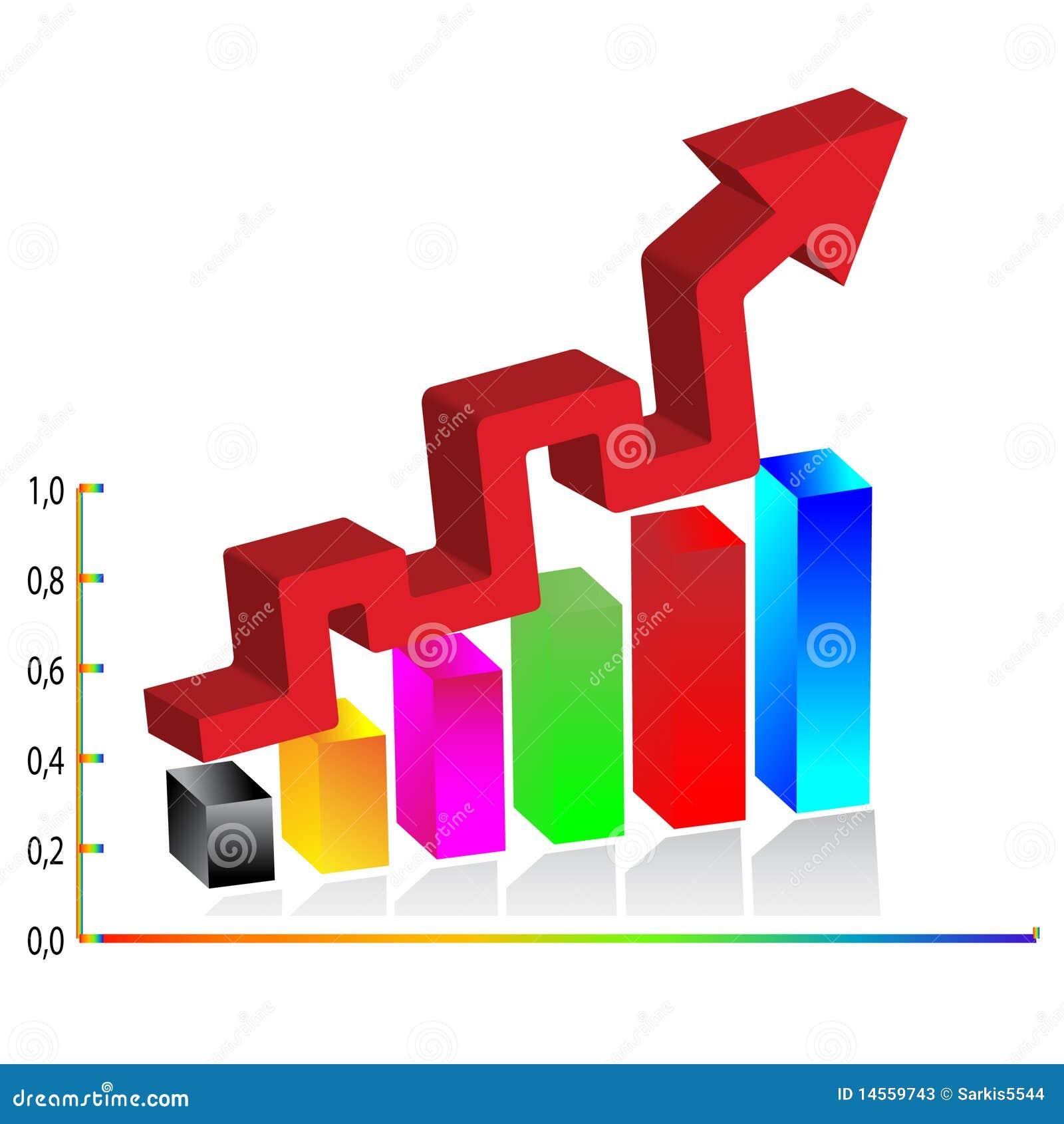 3d Business Diagram Vector Stock Photos