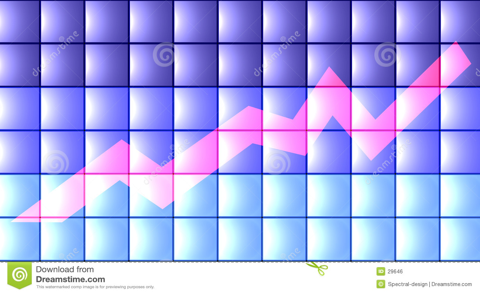 3D Chart - flat