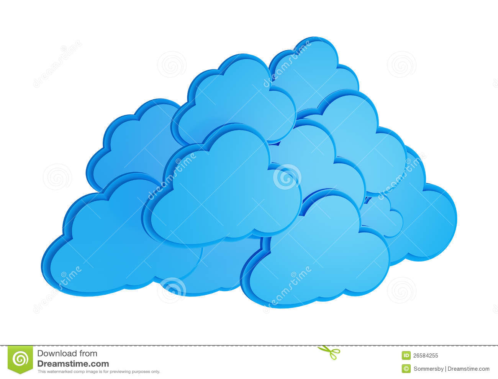 3d Cloud Computing Icon Royalty Free Stock Photo - Image: 26584255: dreamstime.com/royalty-free-stock-photo-3d-cloud-computing-icon...