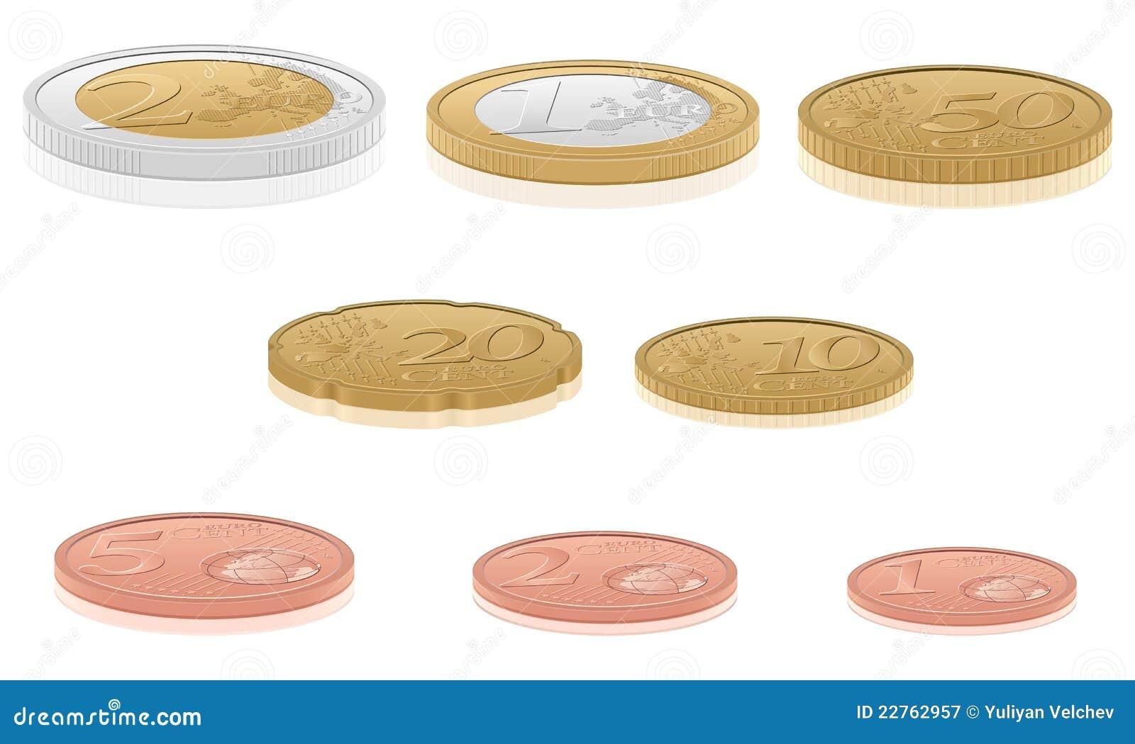 3d coins euro