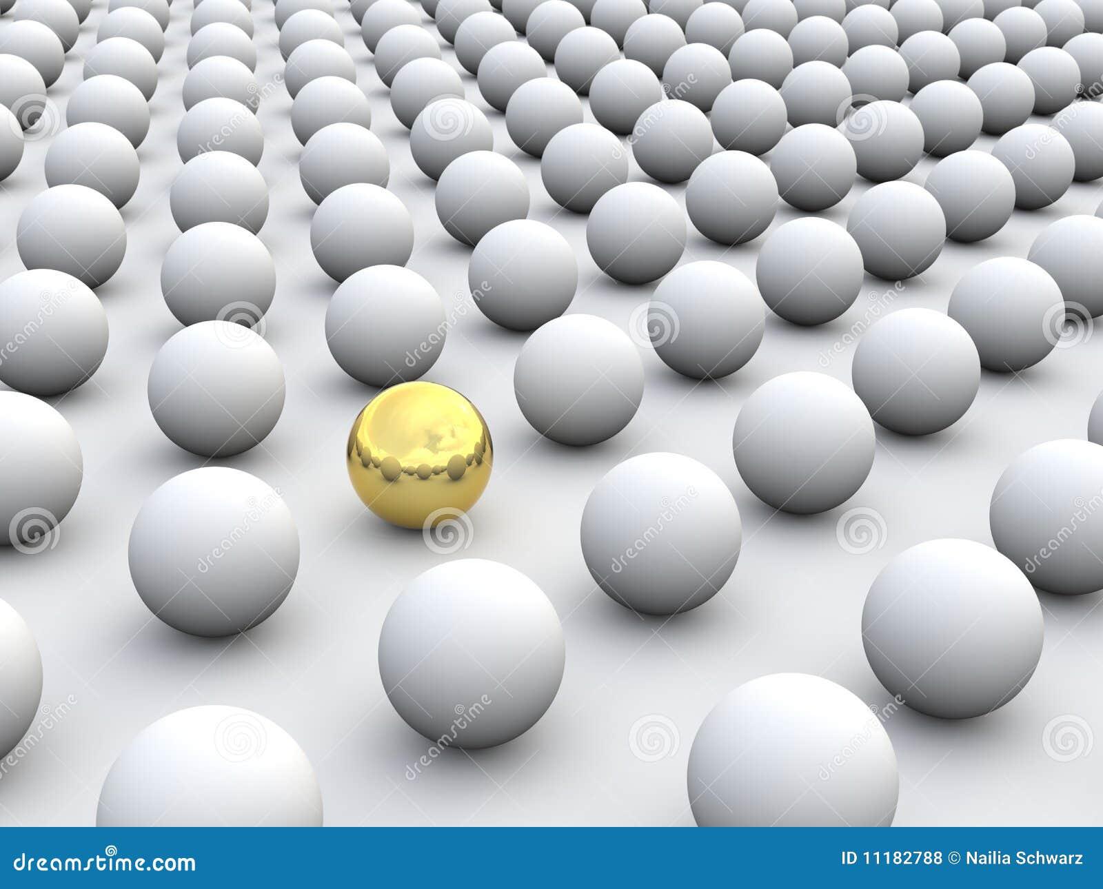 3D conceptenindividualisme en uniciteit