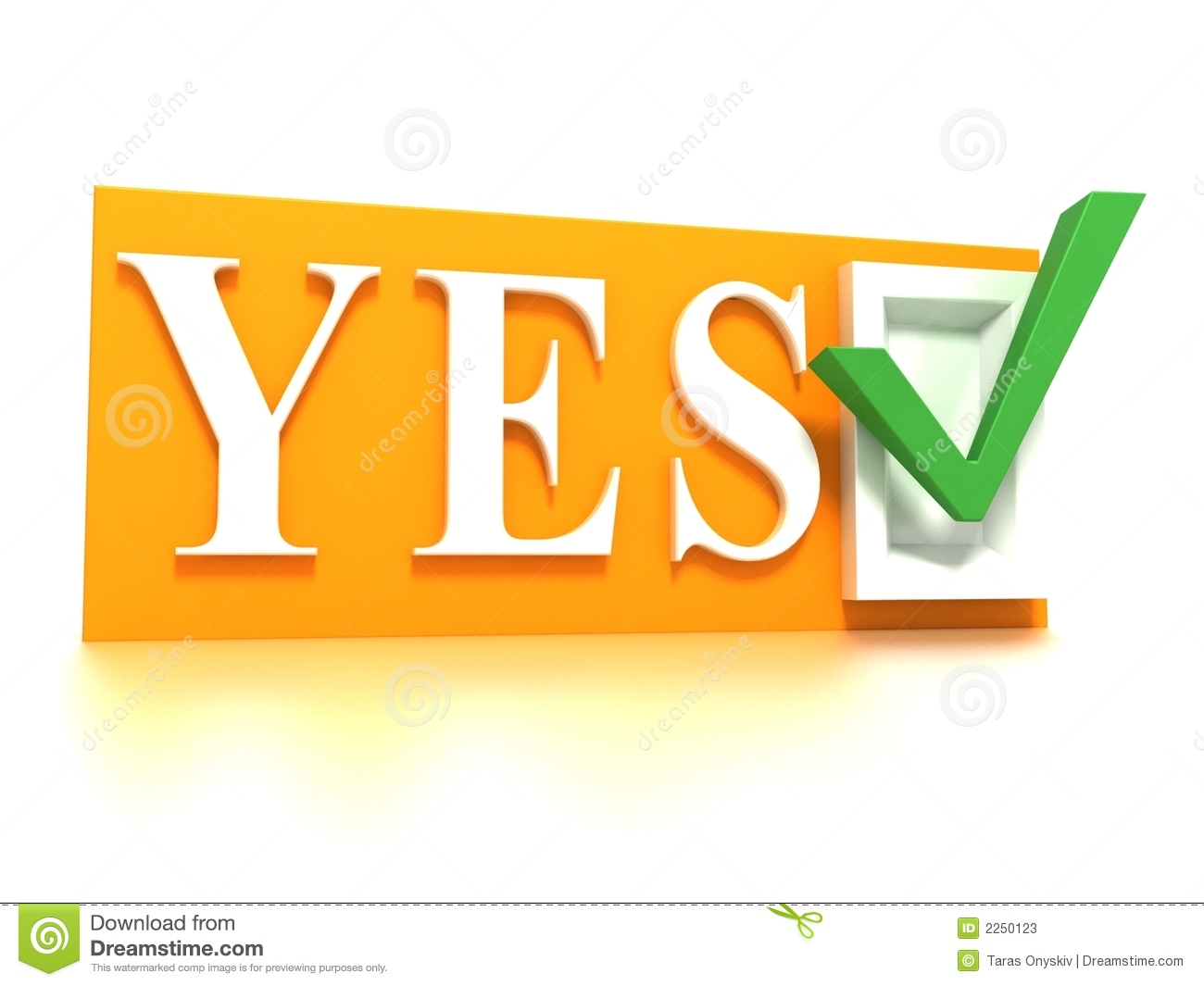 3d confirm sign stock illustration illustration of yes clip art jpeg yes clipart png