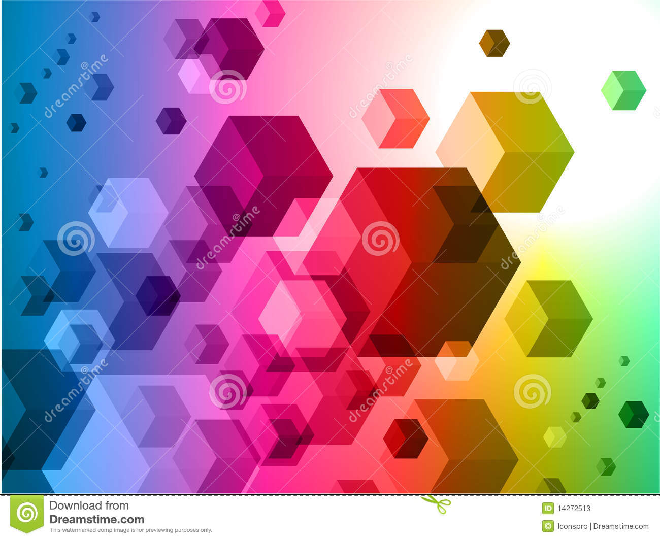3d abstract cubes background - photo #35
