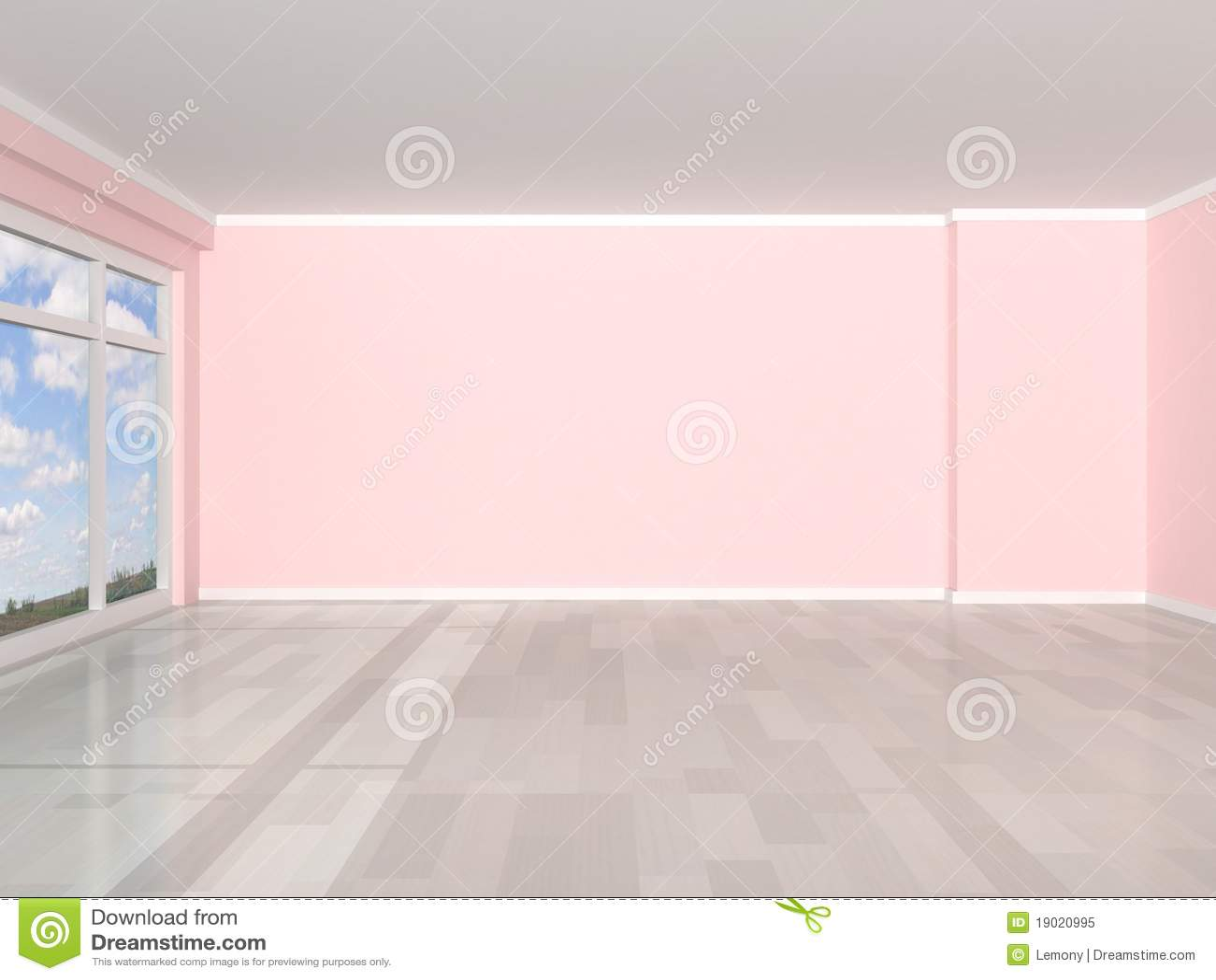 3d das den leeren raum bertr gt lizenzfreies stockfoto bild 19020995. Black Bedroom Furniture Sets. Home Design Ideas
