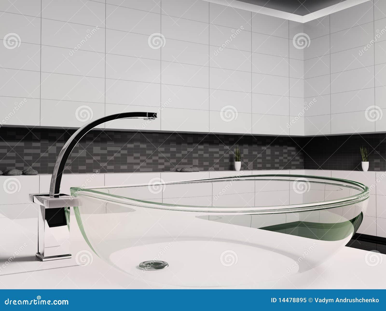 3d De Wasbak Van Het Glas Royaltyvrije Stock Foto  Afbeelding 14478895 # Wasbak Glas_232716