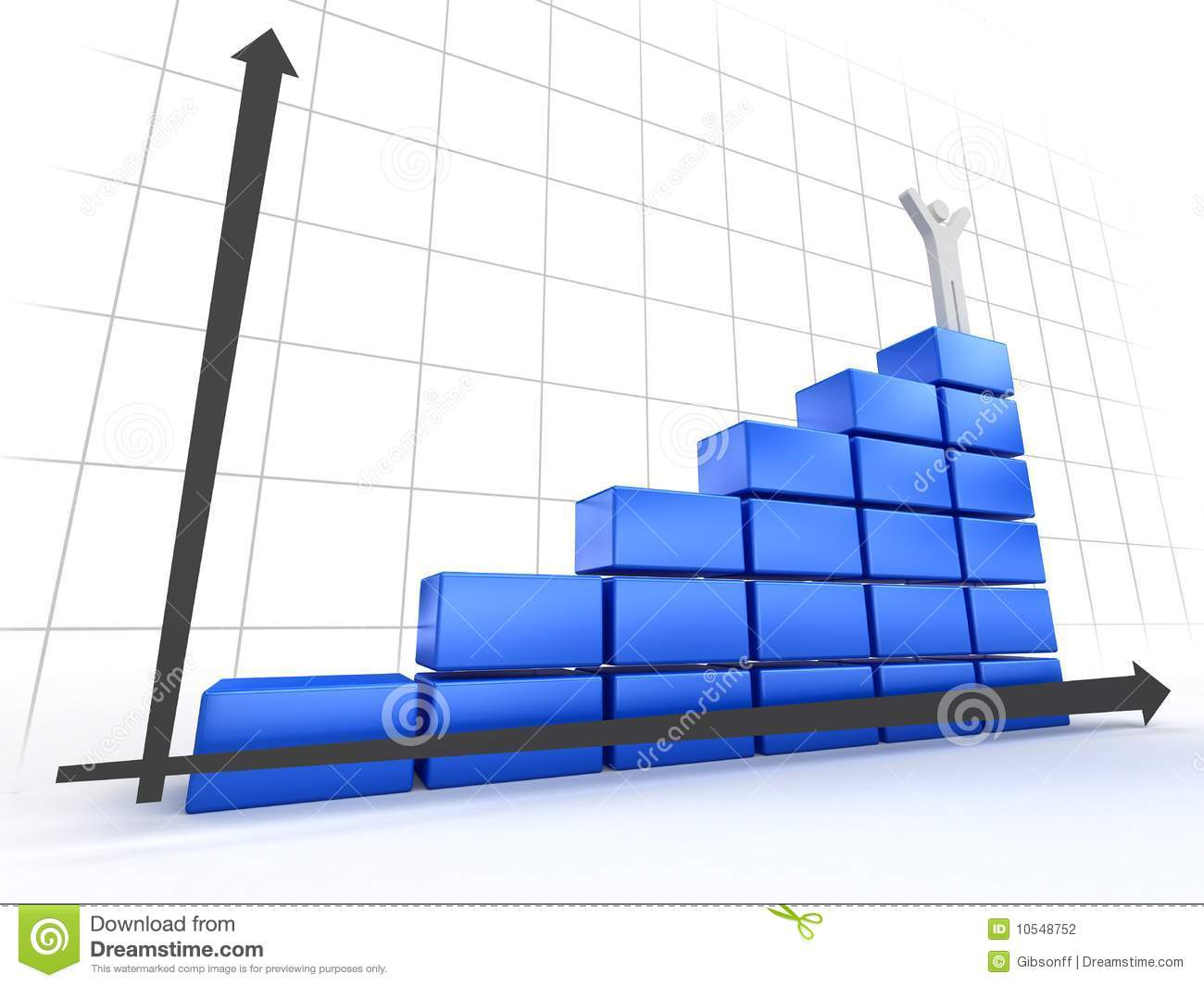 3d Diagram Stock Photography Image 10548752